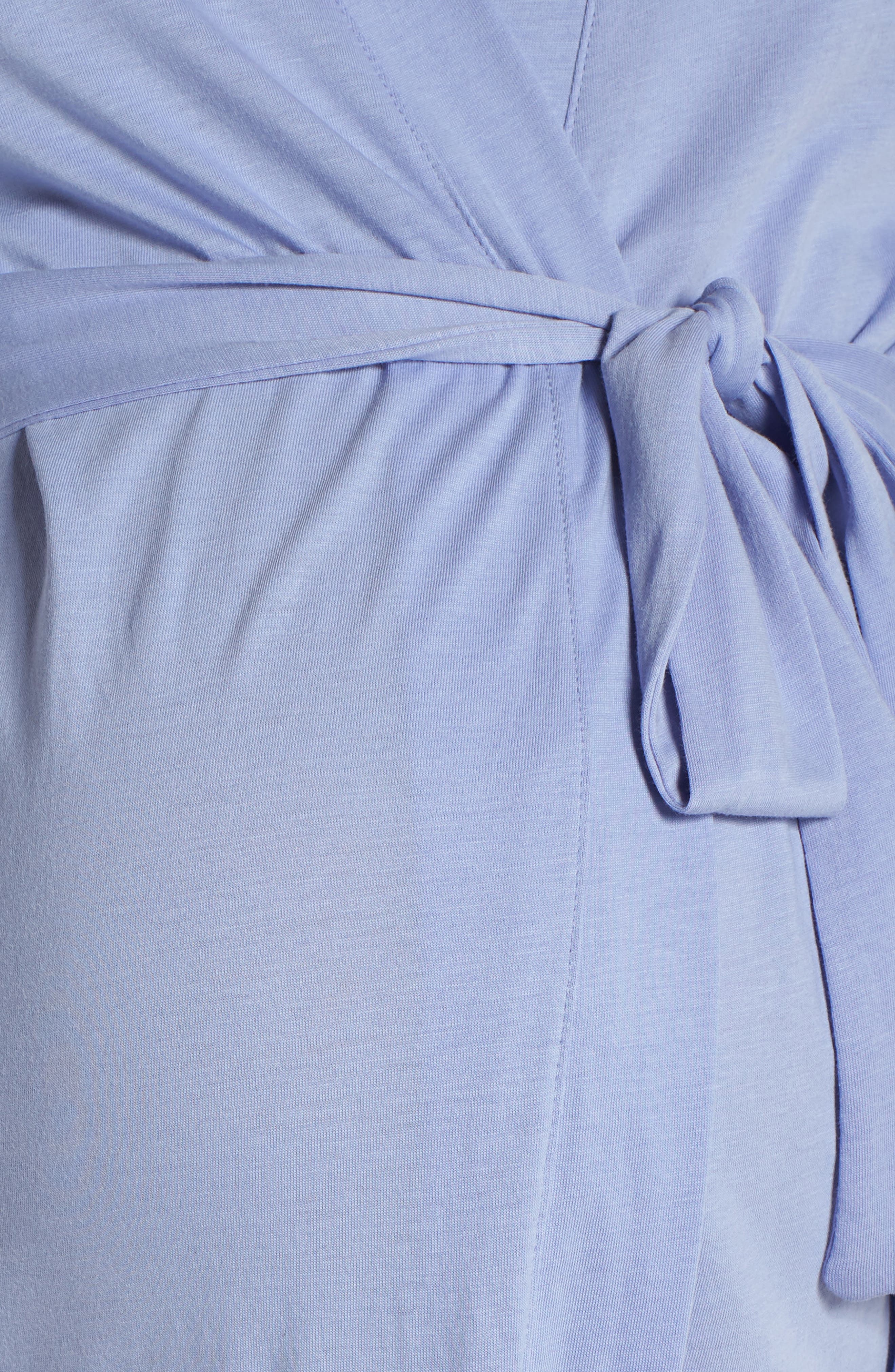 Alternate Image 5  - Belabumbum Violette Maternity/Nursing Robe