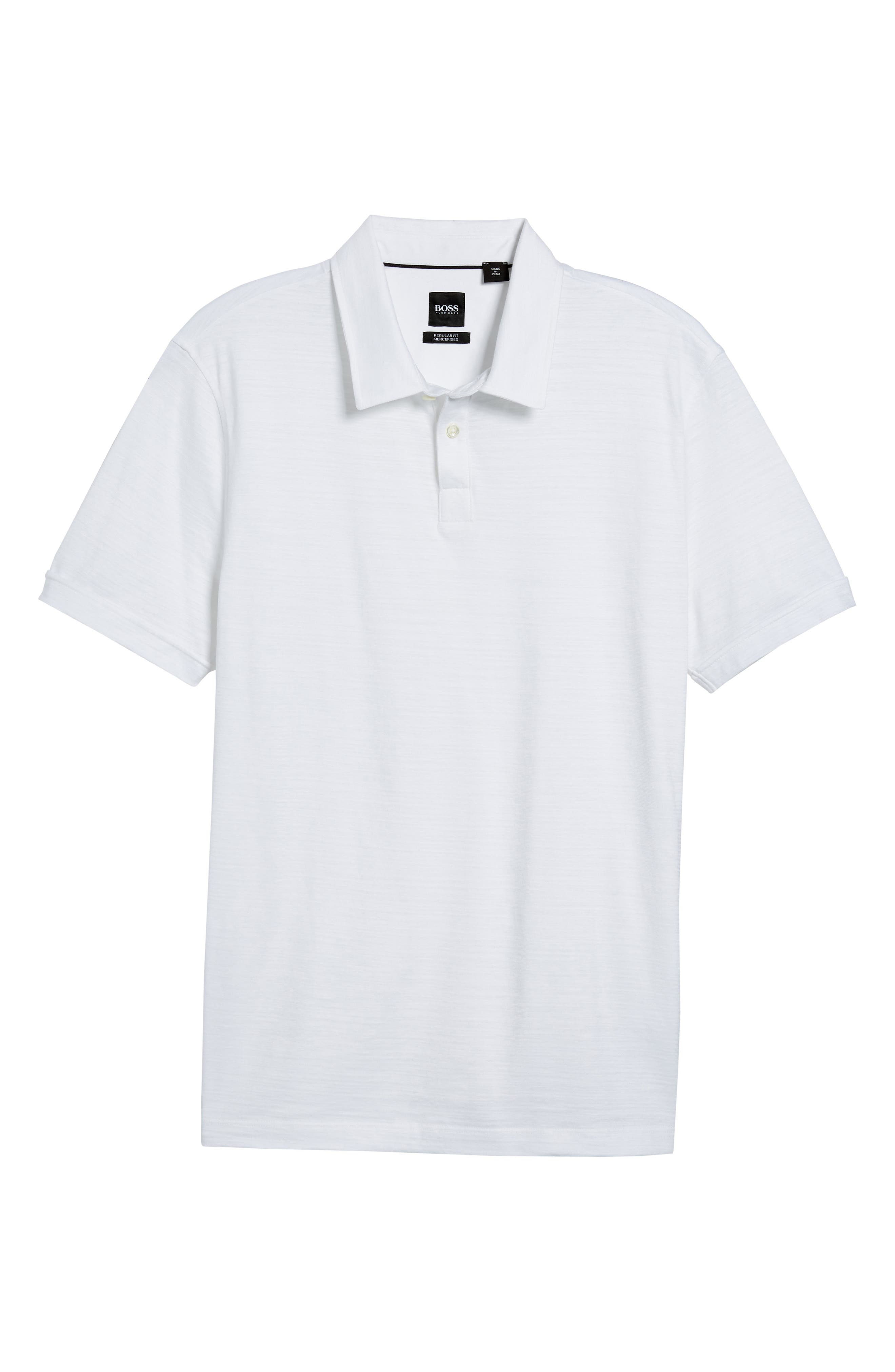 Alternate Image 6  - BOSS Press Flame Slim Fit Polo Shirt