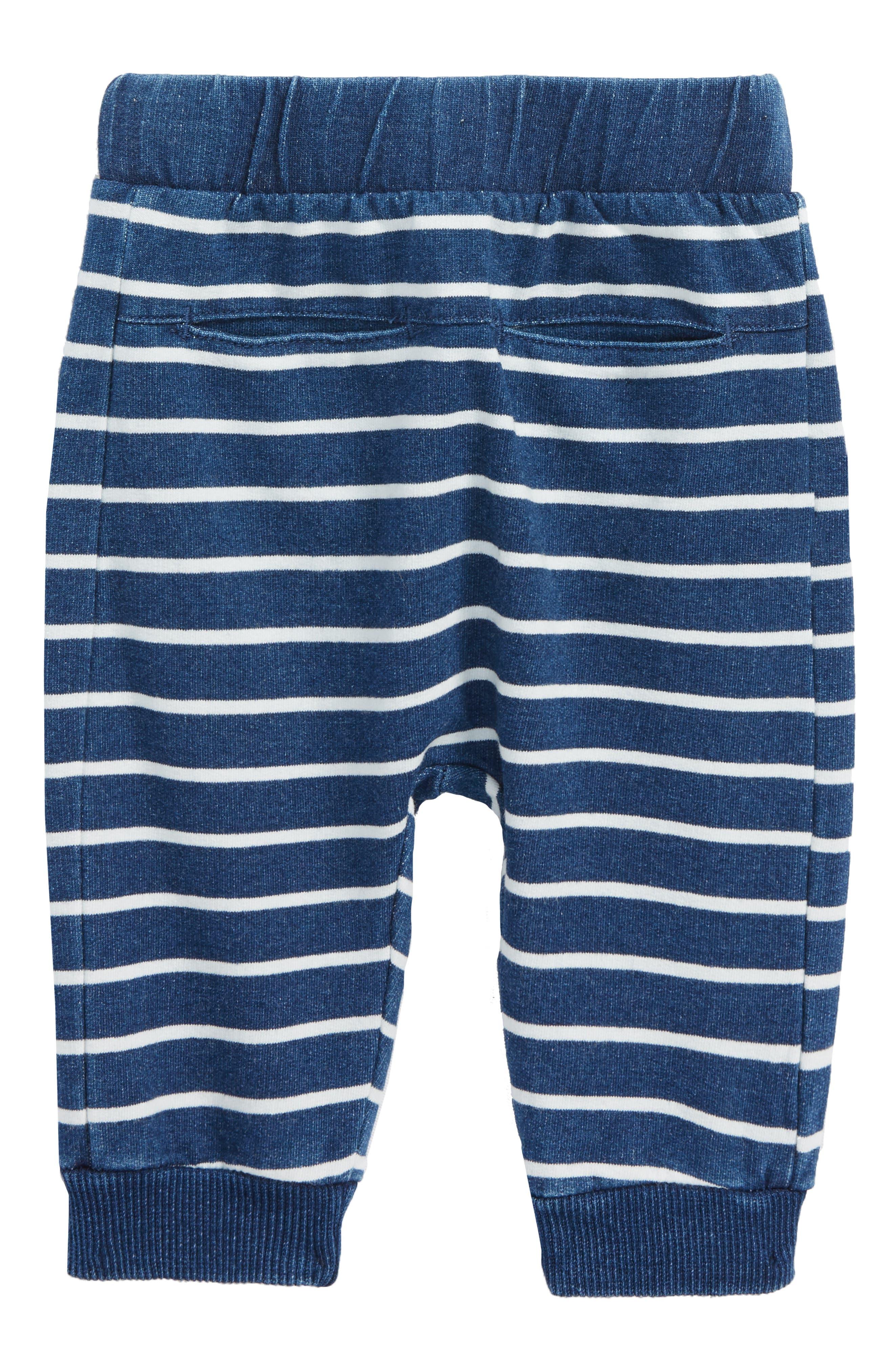 Stripe Pants,                         Main,                         color, Blue Denim