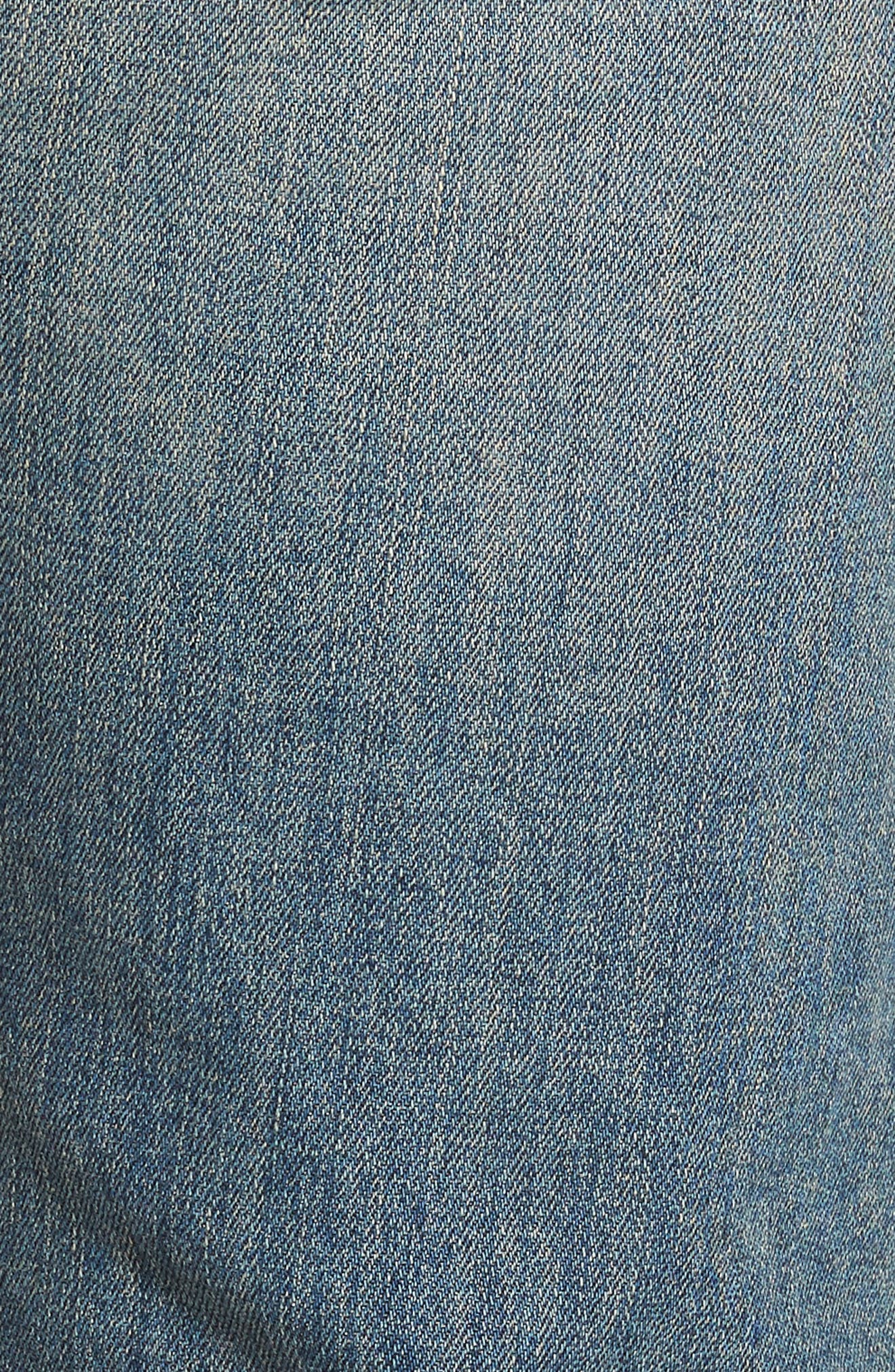 Sid Straight Leg Jeans,                             Alternate thumbnail 5, color,                             Uriel