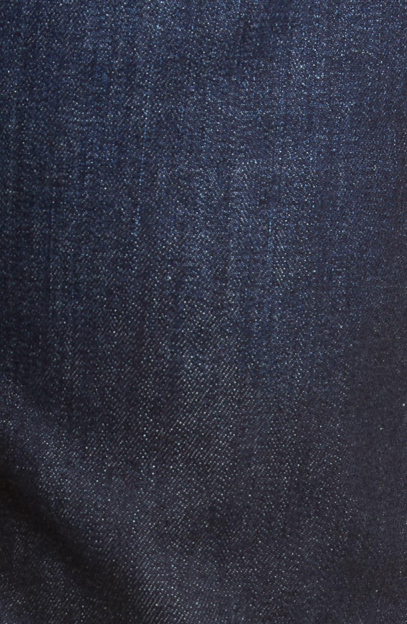 Sid Straight Leg Jeans,                             Alternate thumbnail 5, color,                             Emery