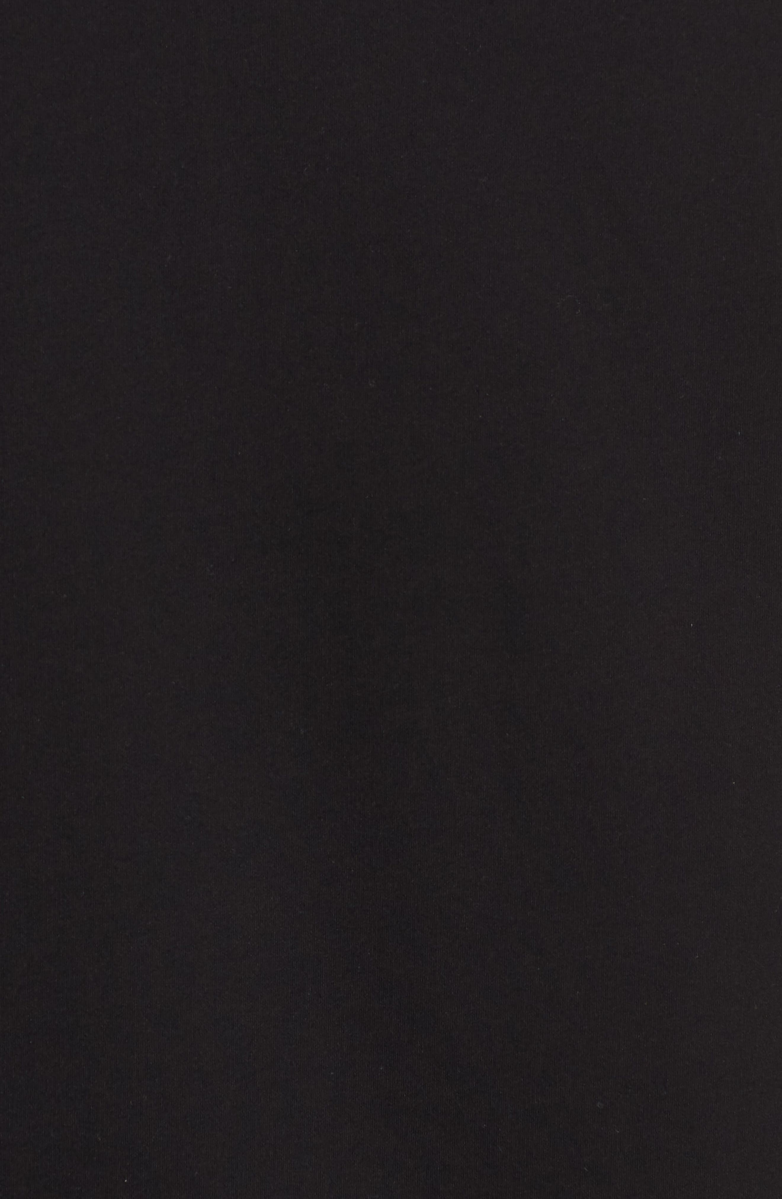 Alternate Image 5  - James Perse Regular Fit Half Zip Baseball Pullover