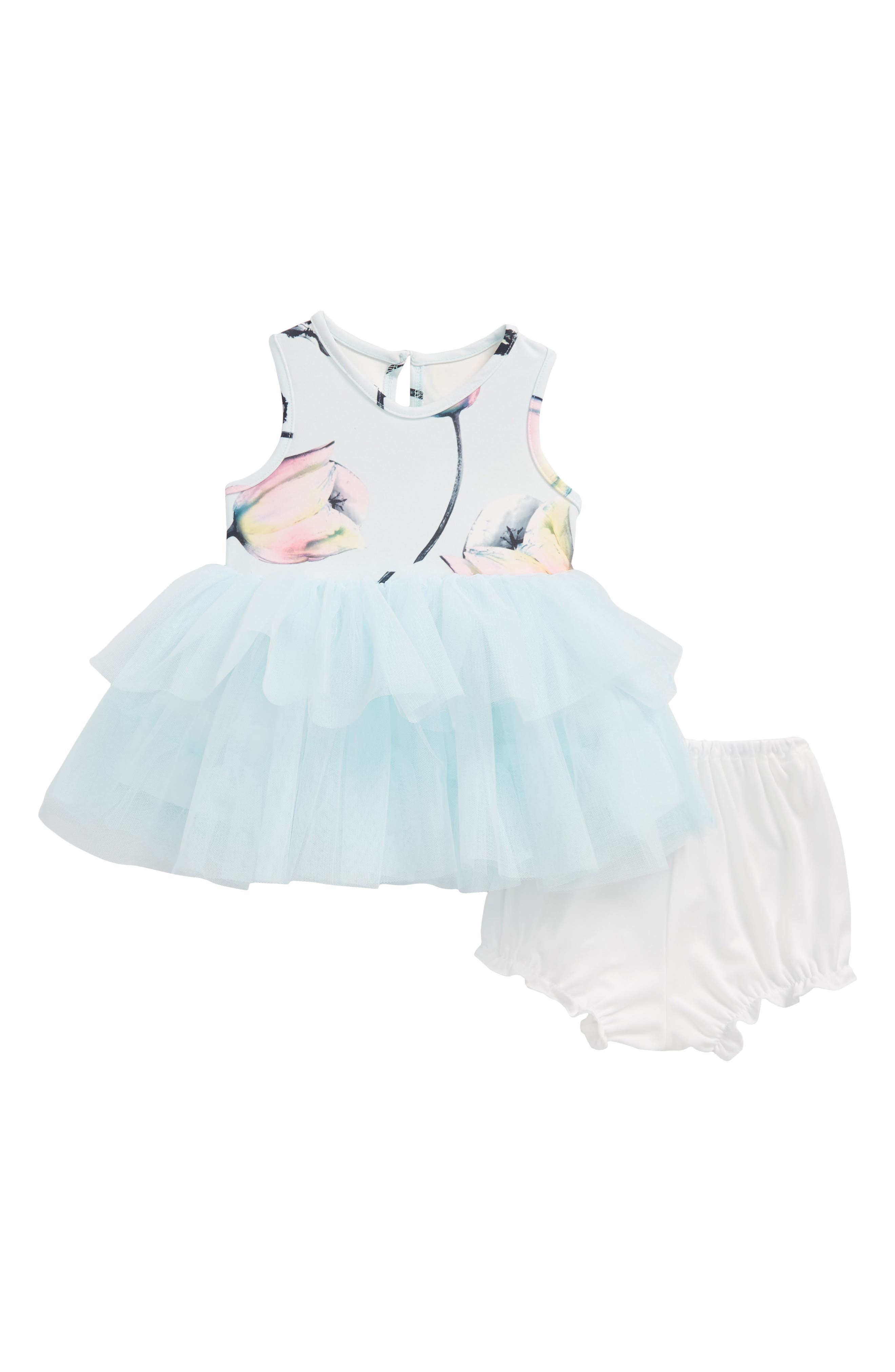 Tutu Dress,                         Main,                         color, Blue