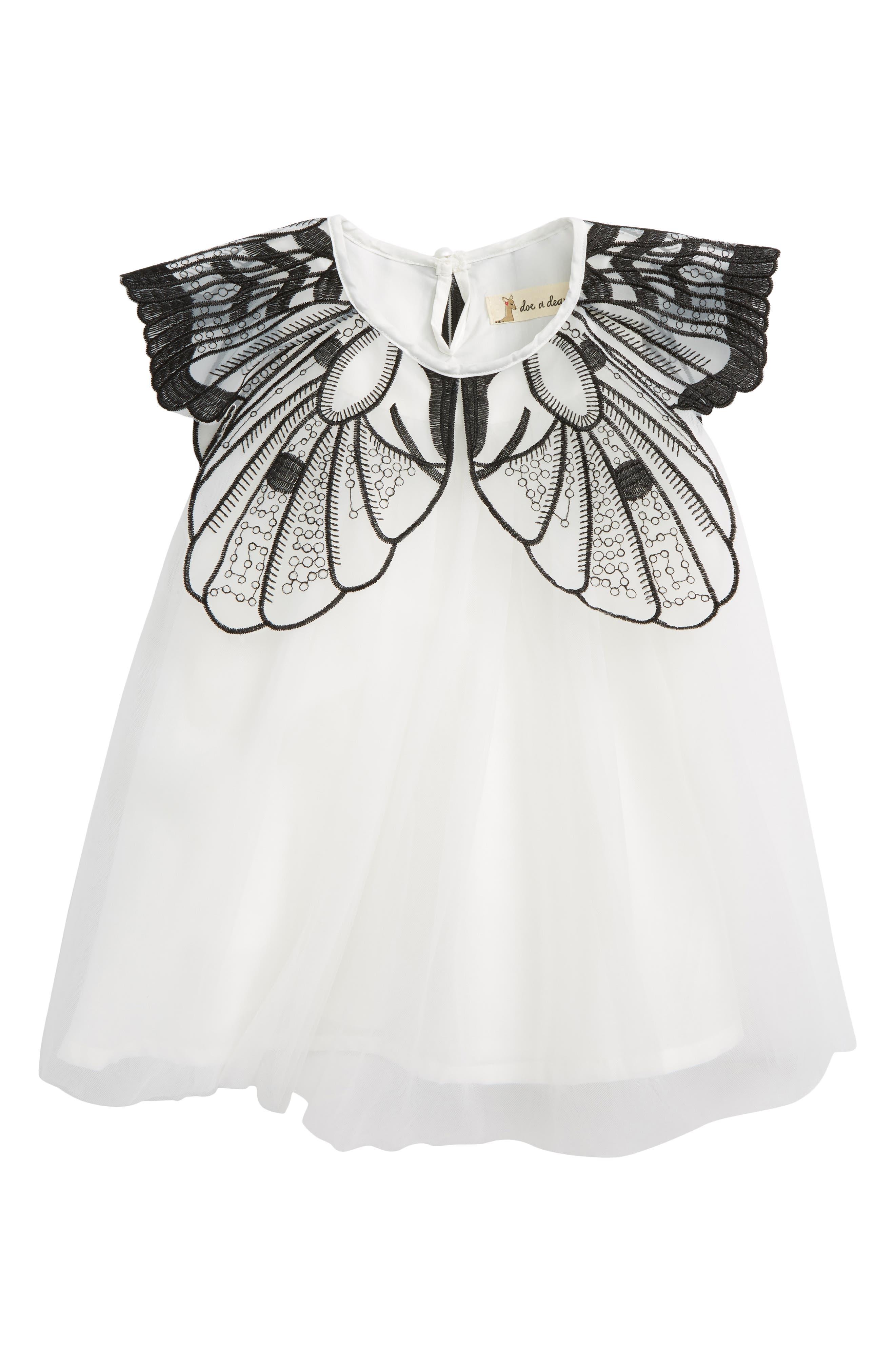 Main Image - Doe A Dear Butterfly Dress (Baby Girls)