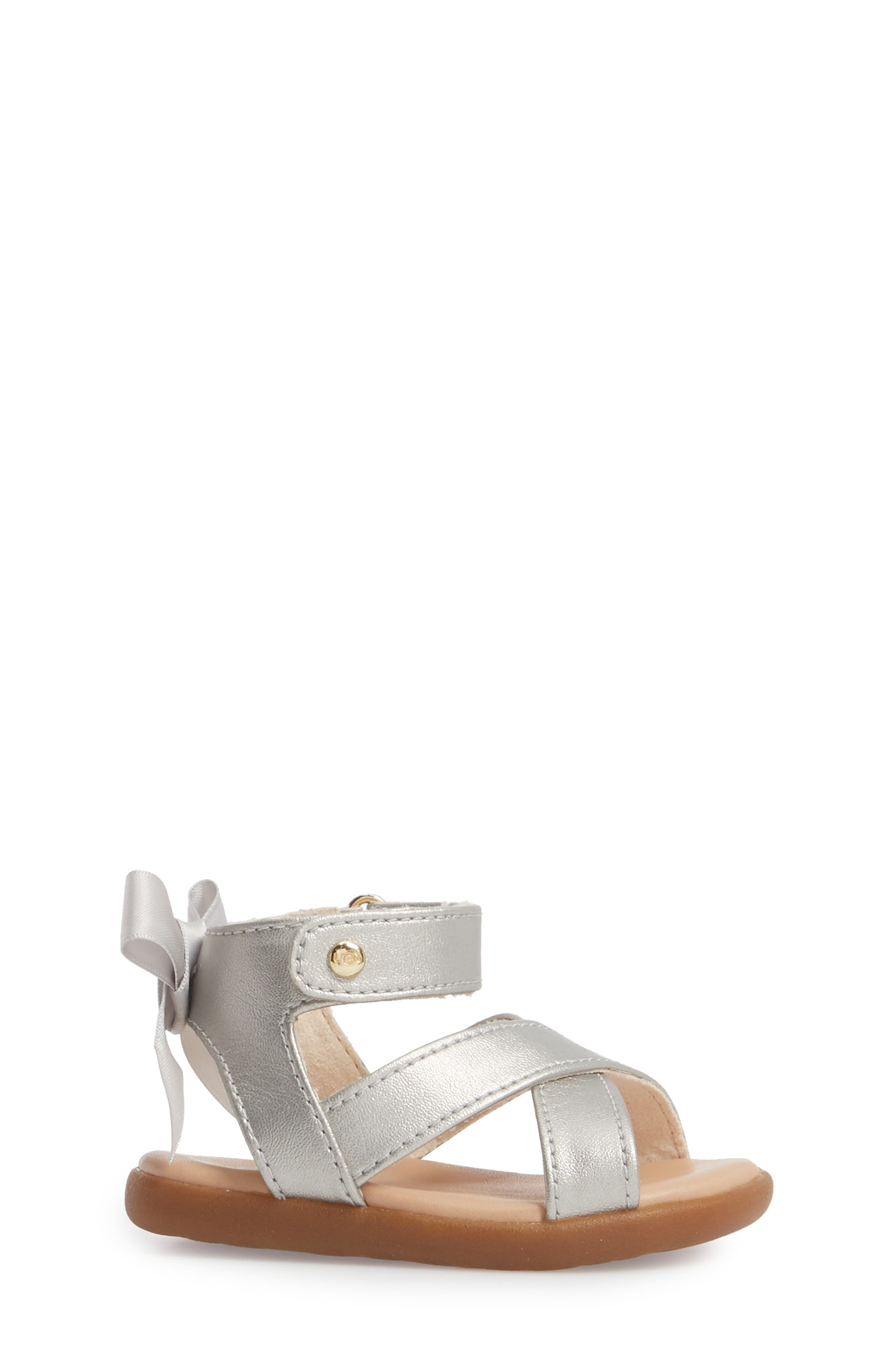 Maggiepie Sparkles Sandal,                             Alternate thumbnail 3, color,                             Silver