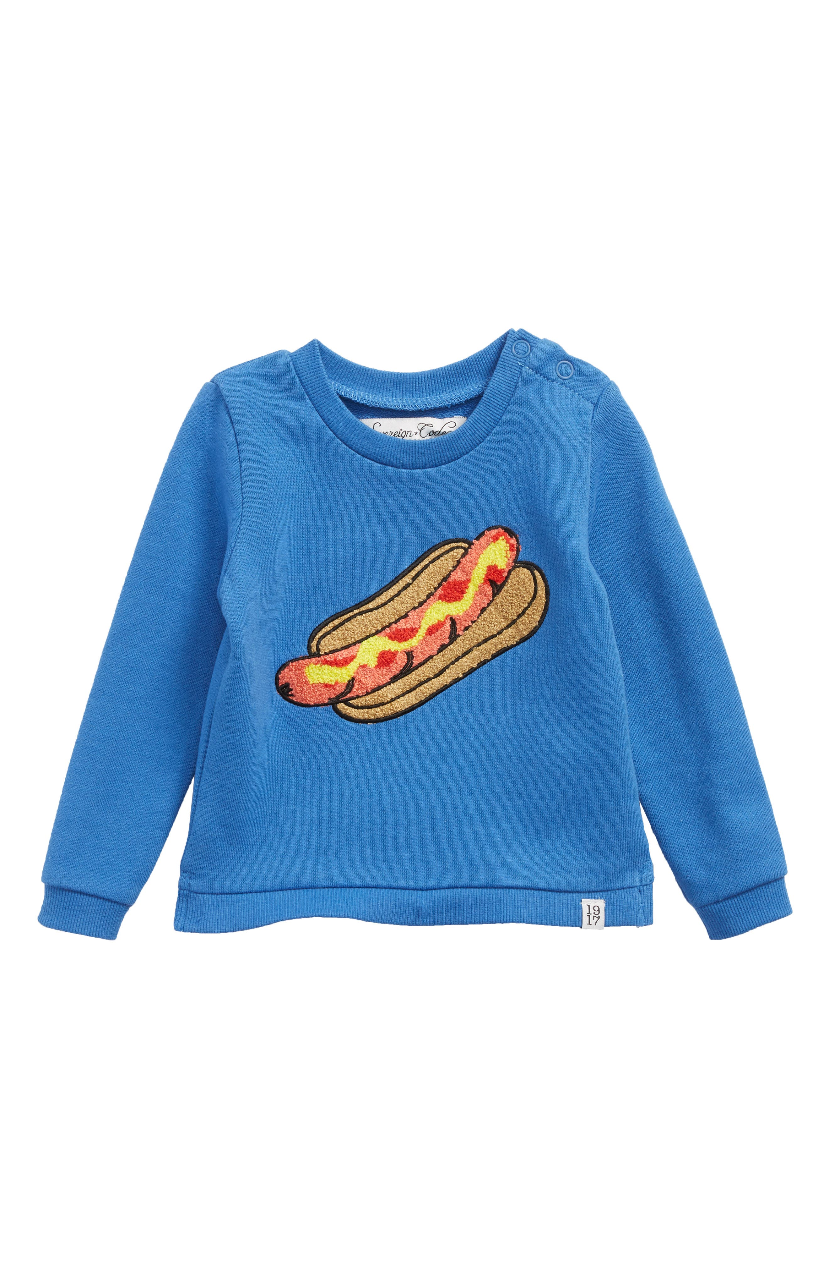 Whoa Sweatshirt,                             Main thumbnail 1, color,                             Blue