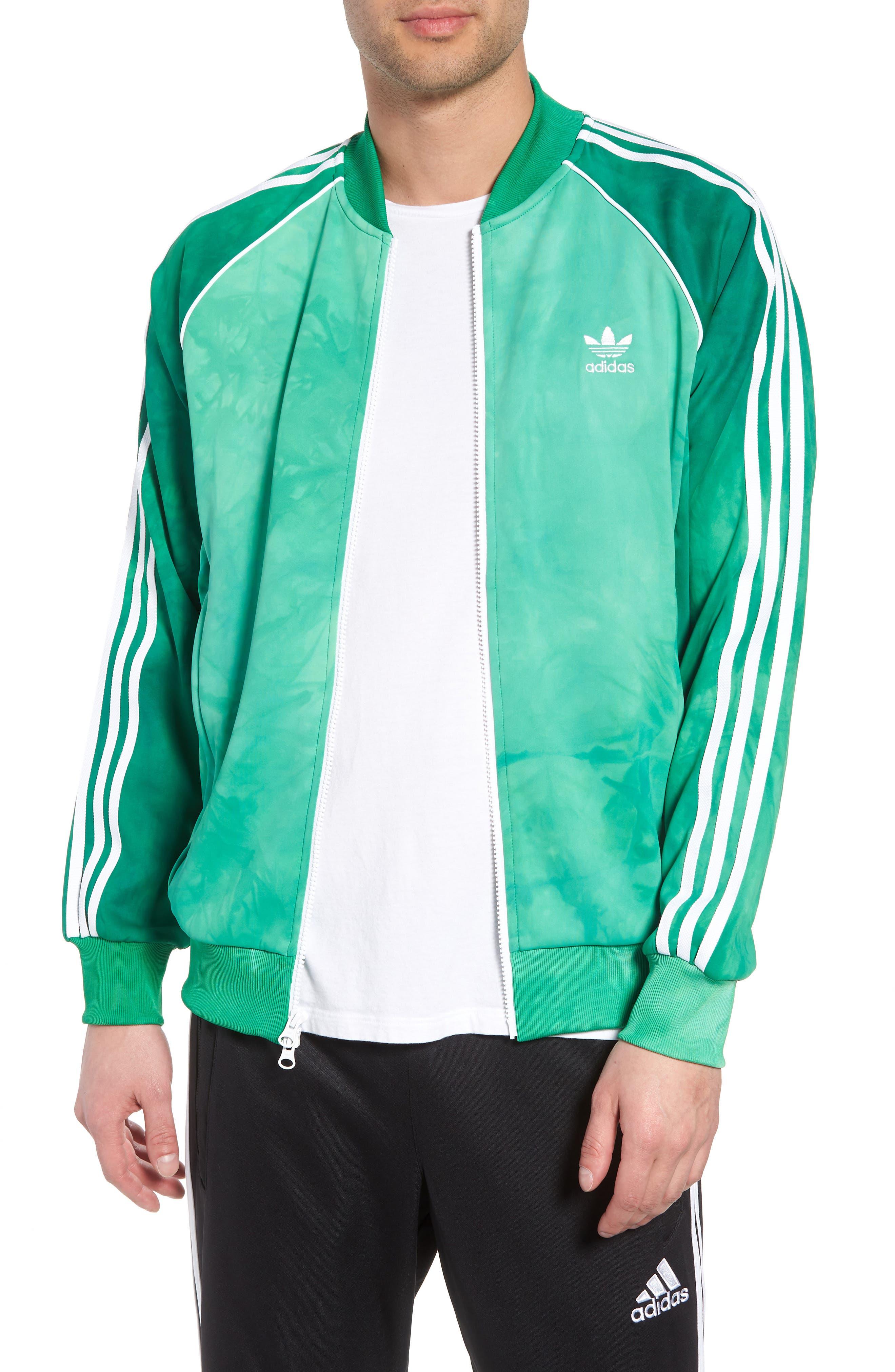 Hu Holi Track Jacket,                         Main,                         color, Green