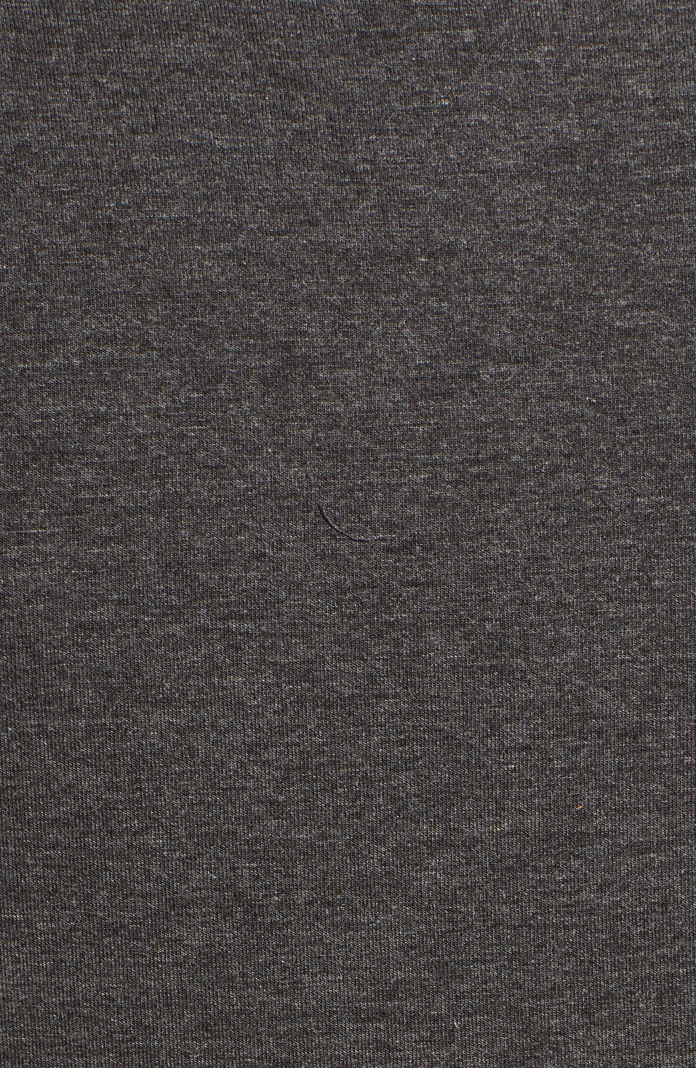 Pocket Tank Dress,                             Alternate thumbnail 6, color,                             Dark Charcoal