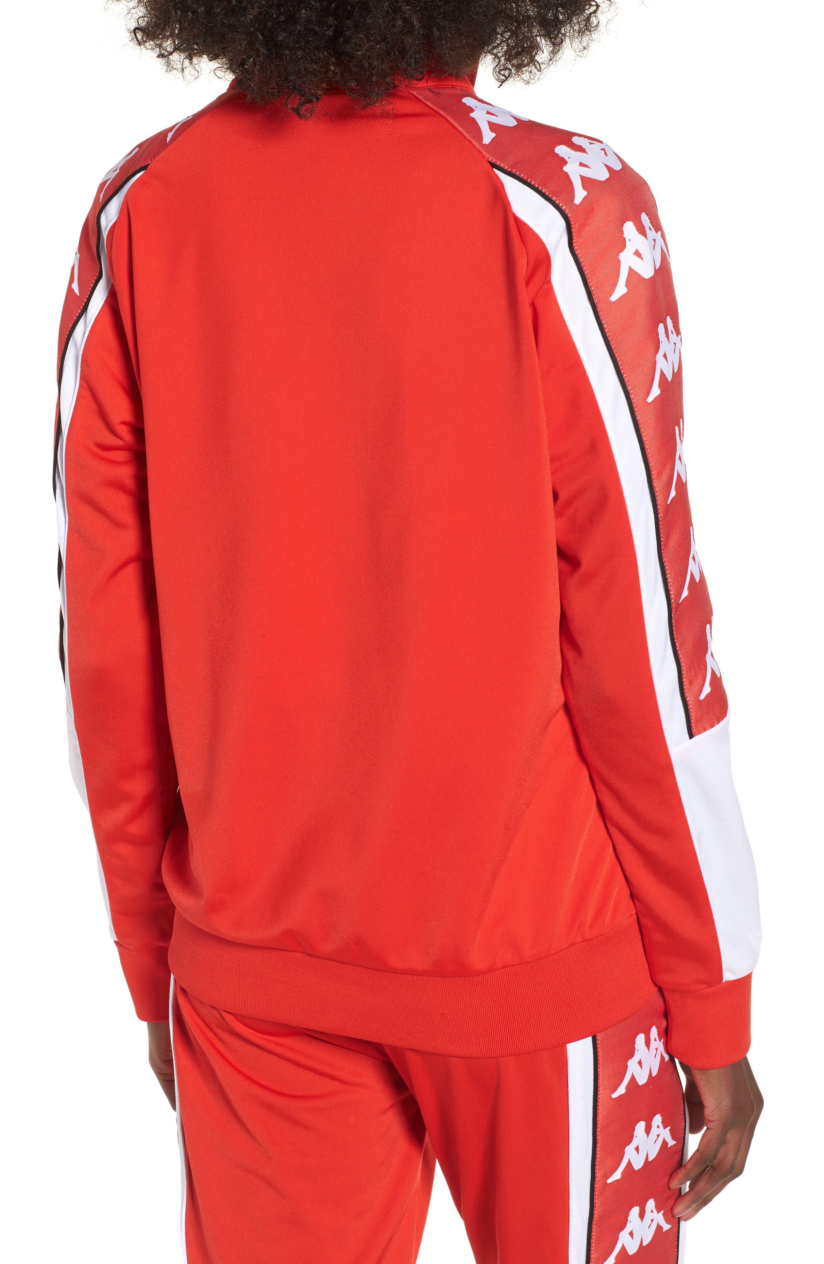 222 Banda 10 Anay Jacket,                             Alternate thumbnail 2, color,                             Red Flame -White