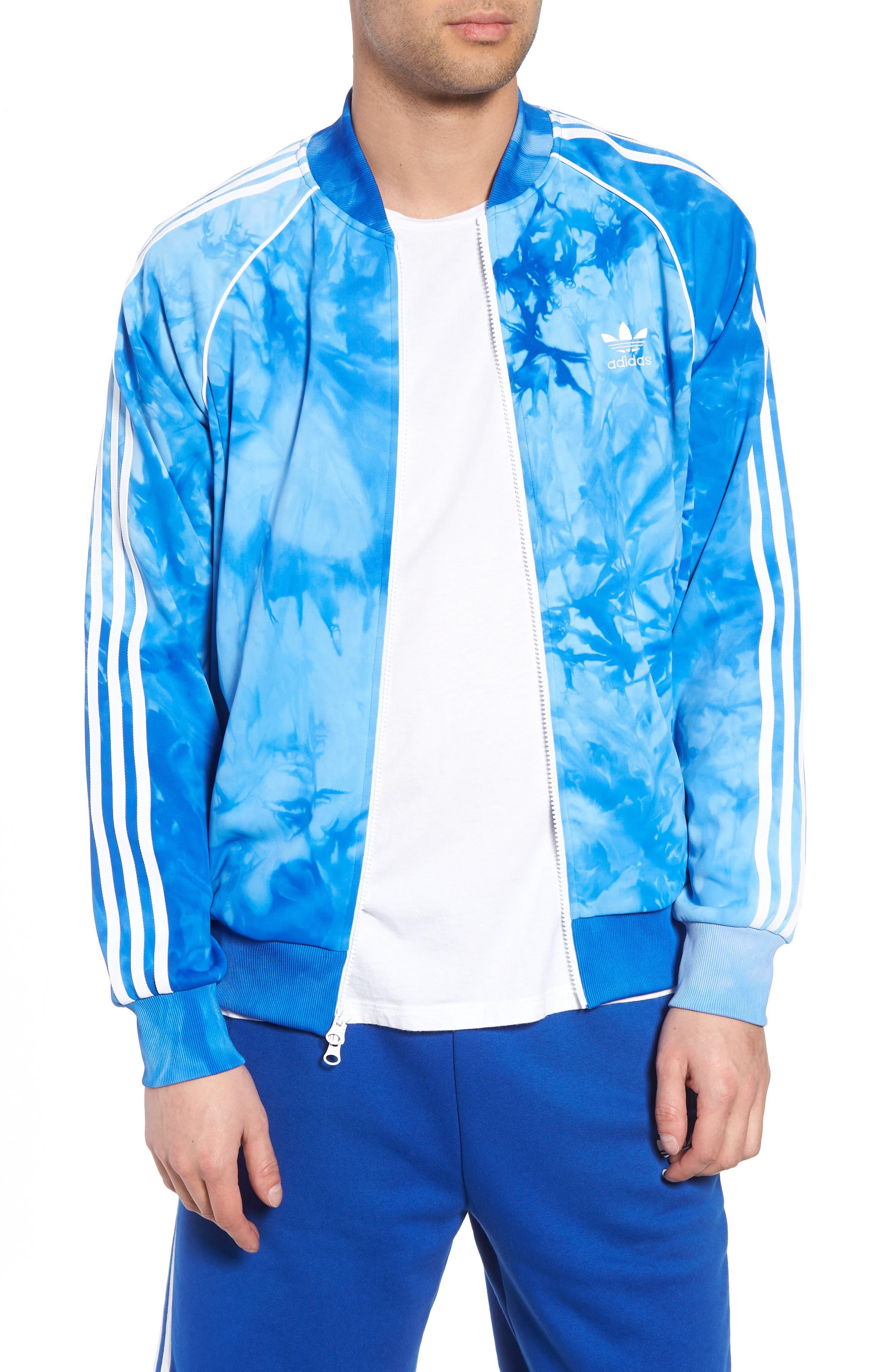 Hu Holi Track Jacket,                         Main,                         color, Blue