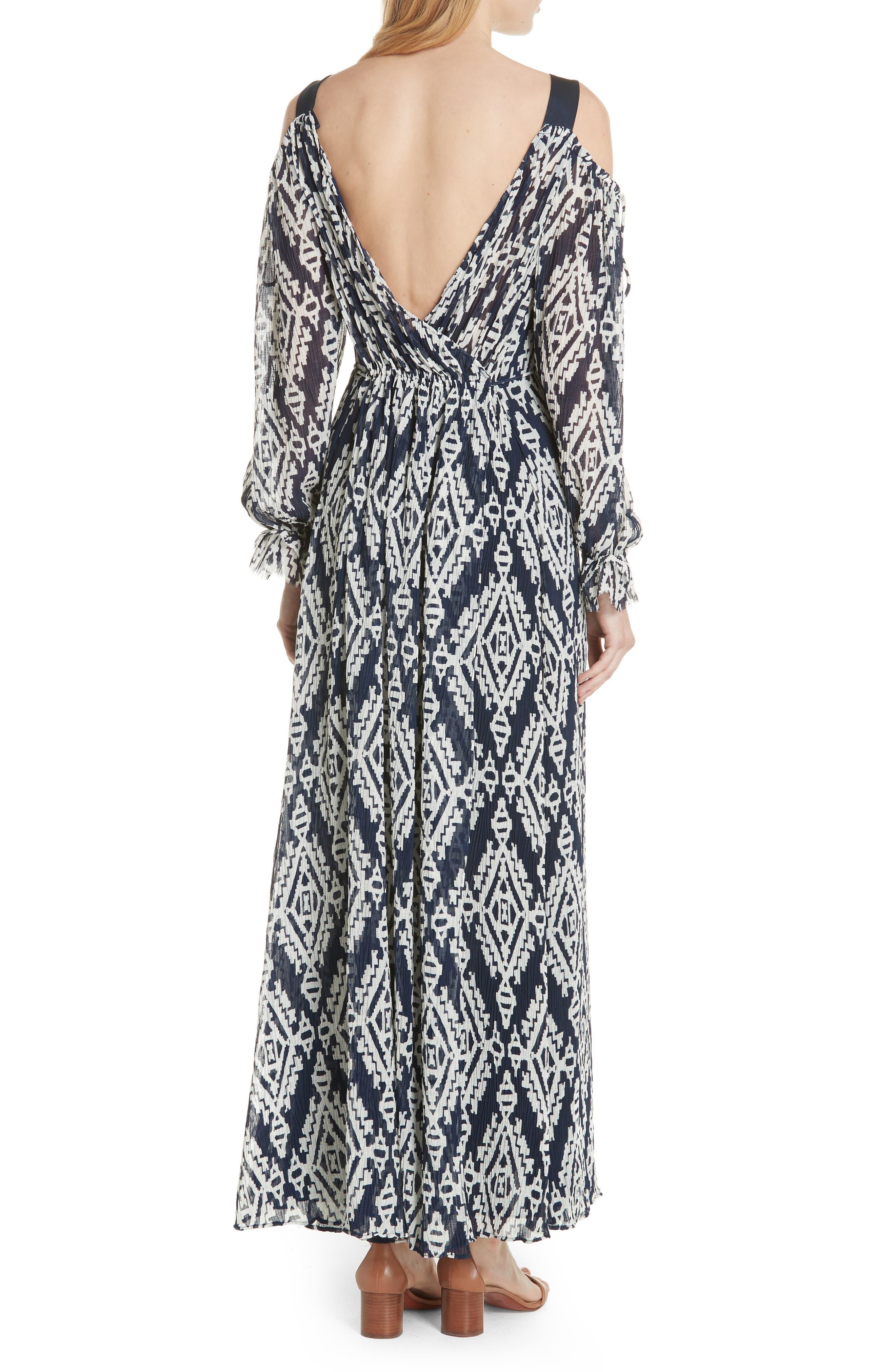 Katherine Maxi Dress,                             Alternate thumbnail 2, color,                             Tapestry Geo
