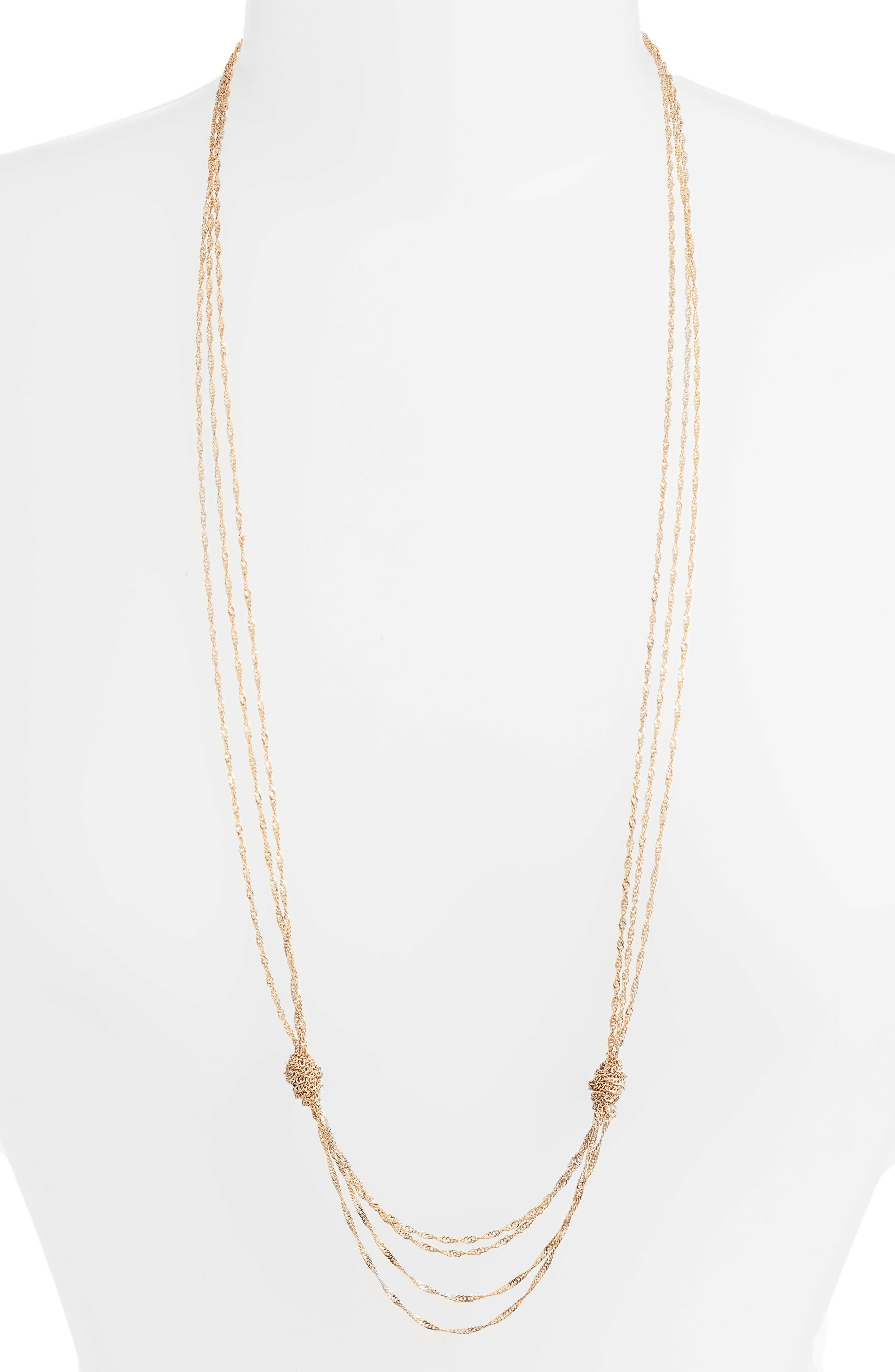 Alternate Image 1 Selected - Sézane Jenny Layering Necklace