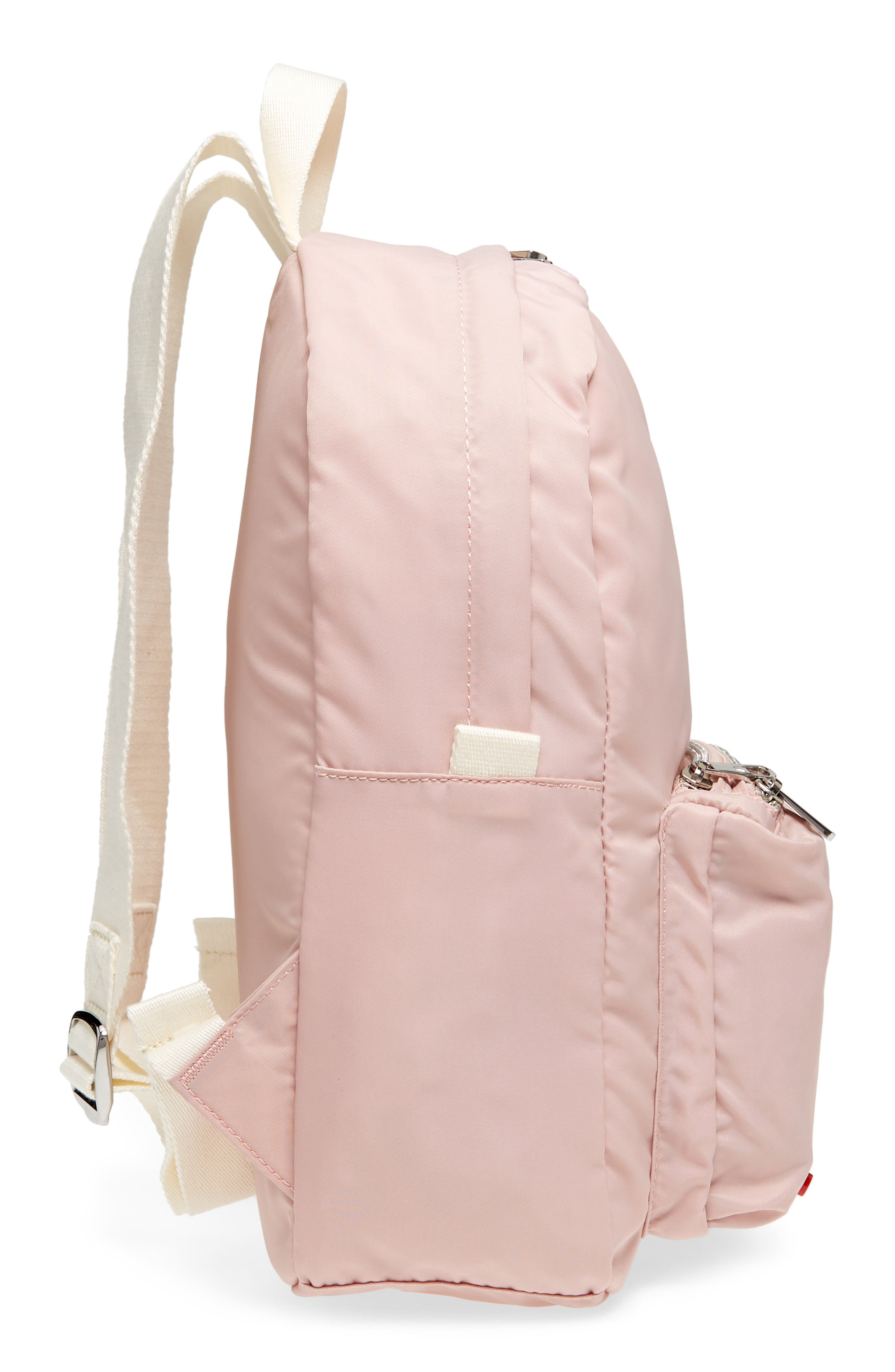 The Heights Mini Lorimer Nylon Backpack,                             Alternate thumbnail 5, color,                             Rose