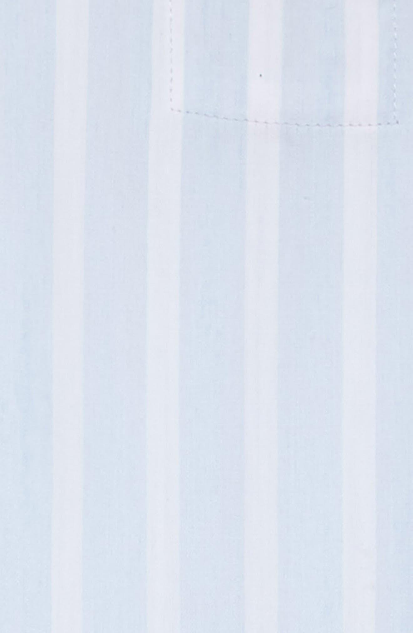 Katie Stripe Ruffle Hem Dress,                             Alternate thumbnail 3, color,                             Hampshire Stripe
