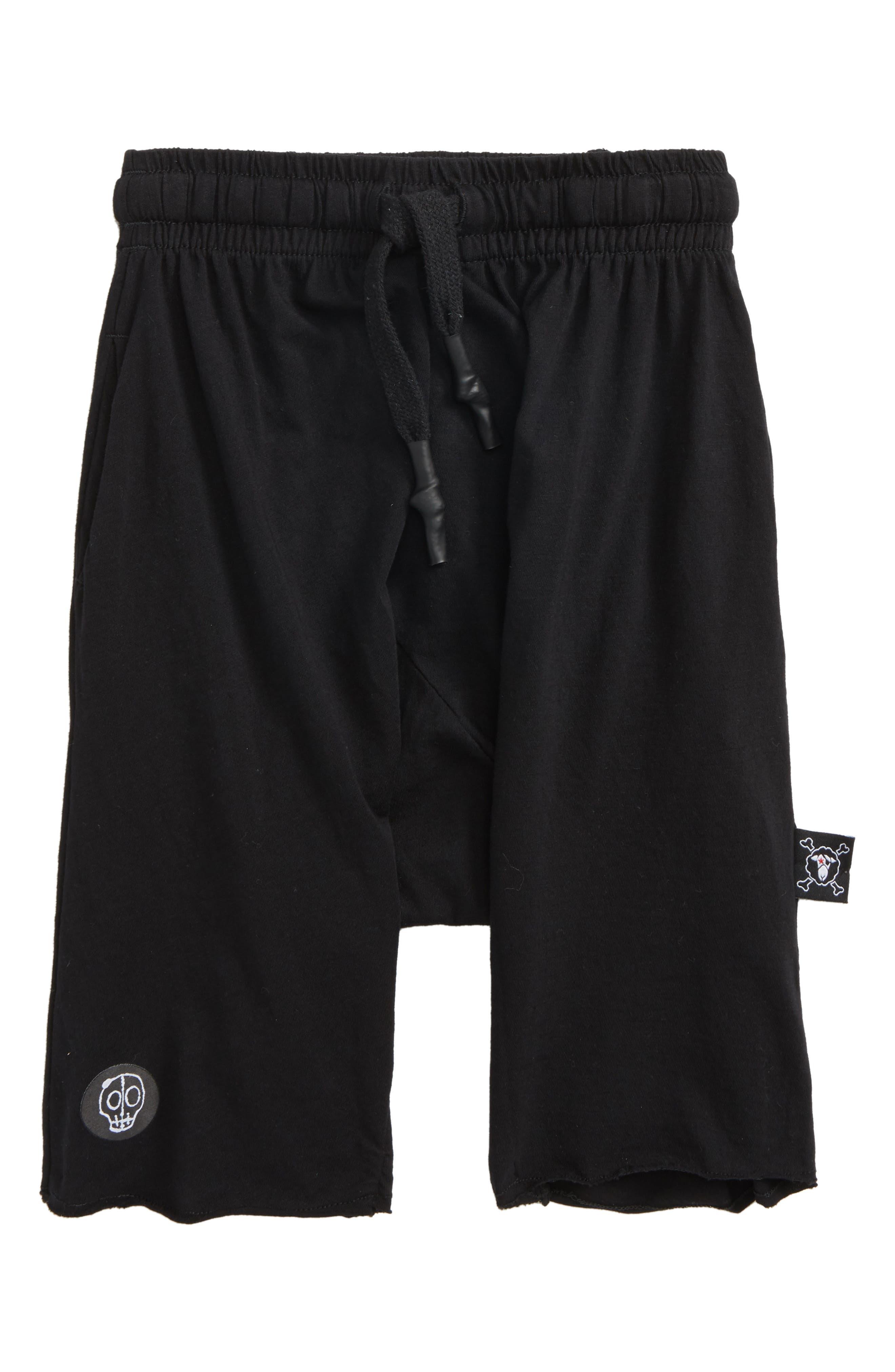 Nununu Knit Shorts (Toddler Boys, Little Boys & Big Boys)
