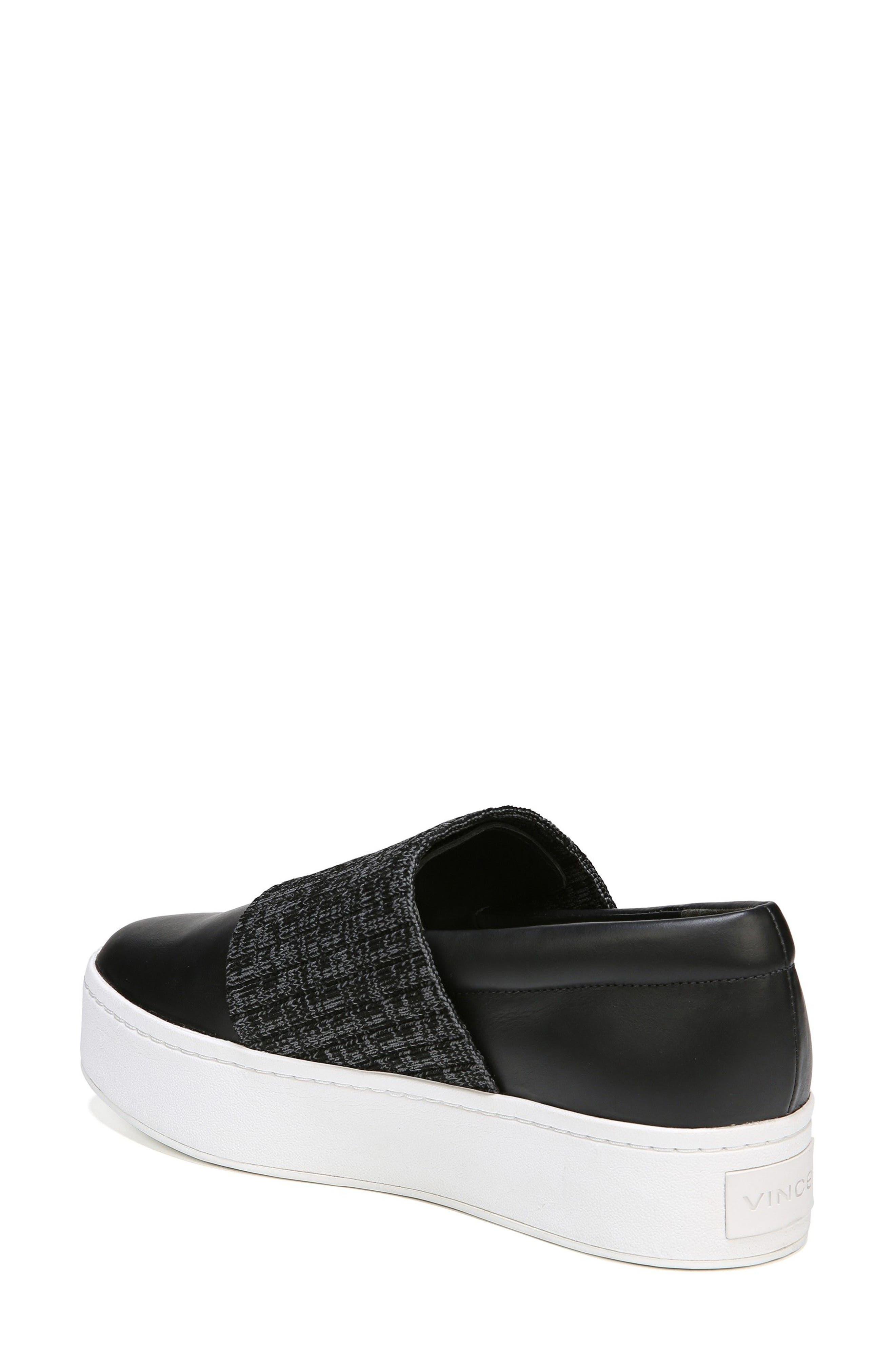 Weadon Slip-On Sneaker,                             Alternate thumbnail 2, color,                             Black Siviglia Calf