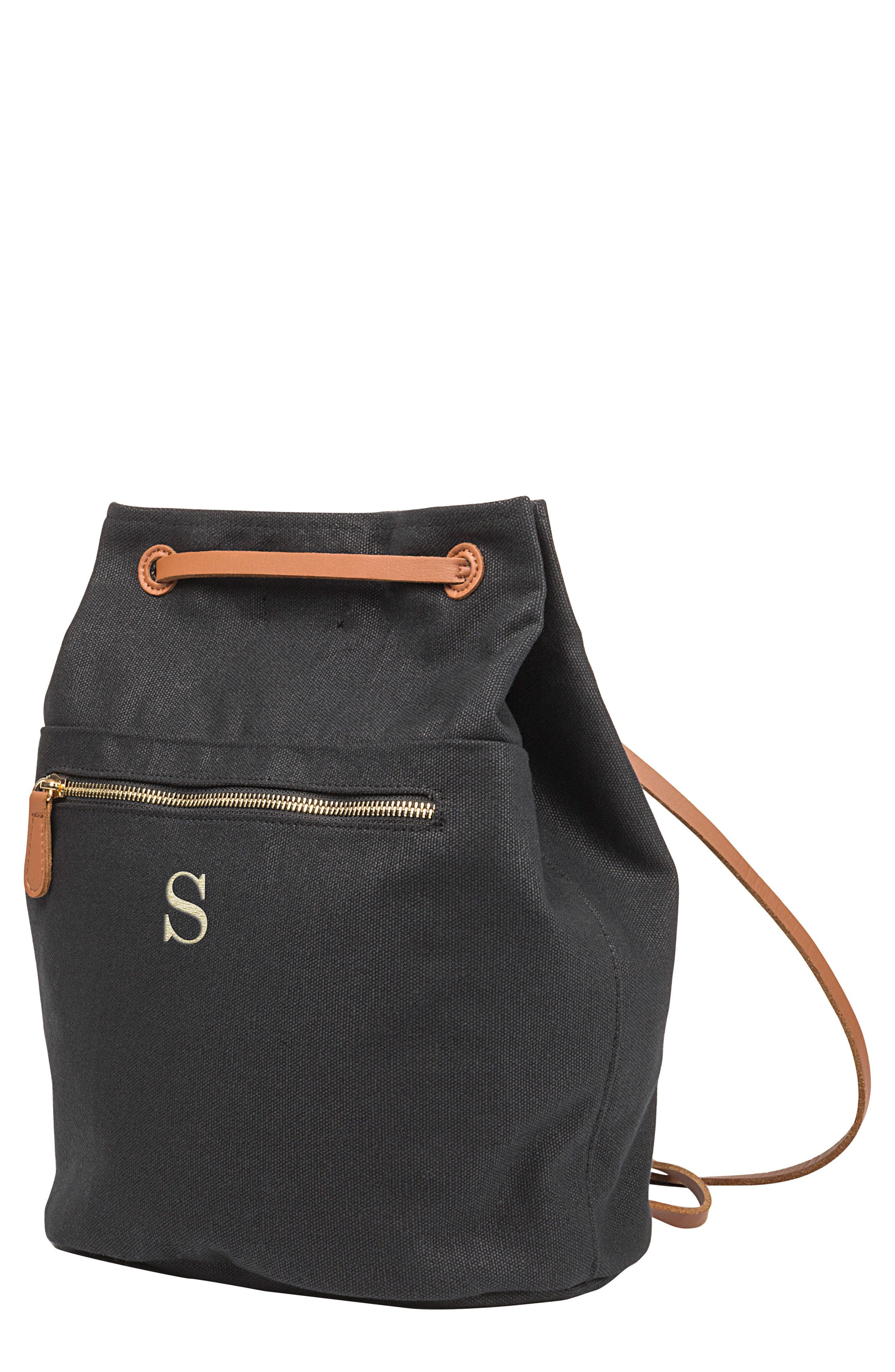 Cathy's Concepts Monogram Convertible Backpack