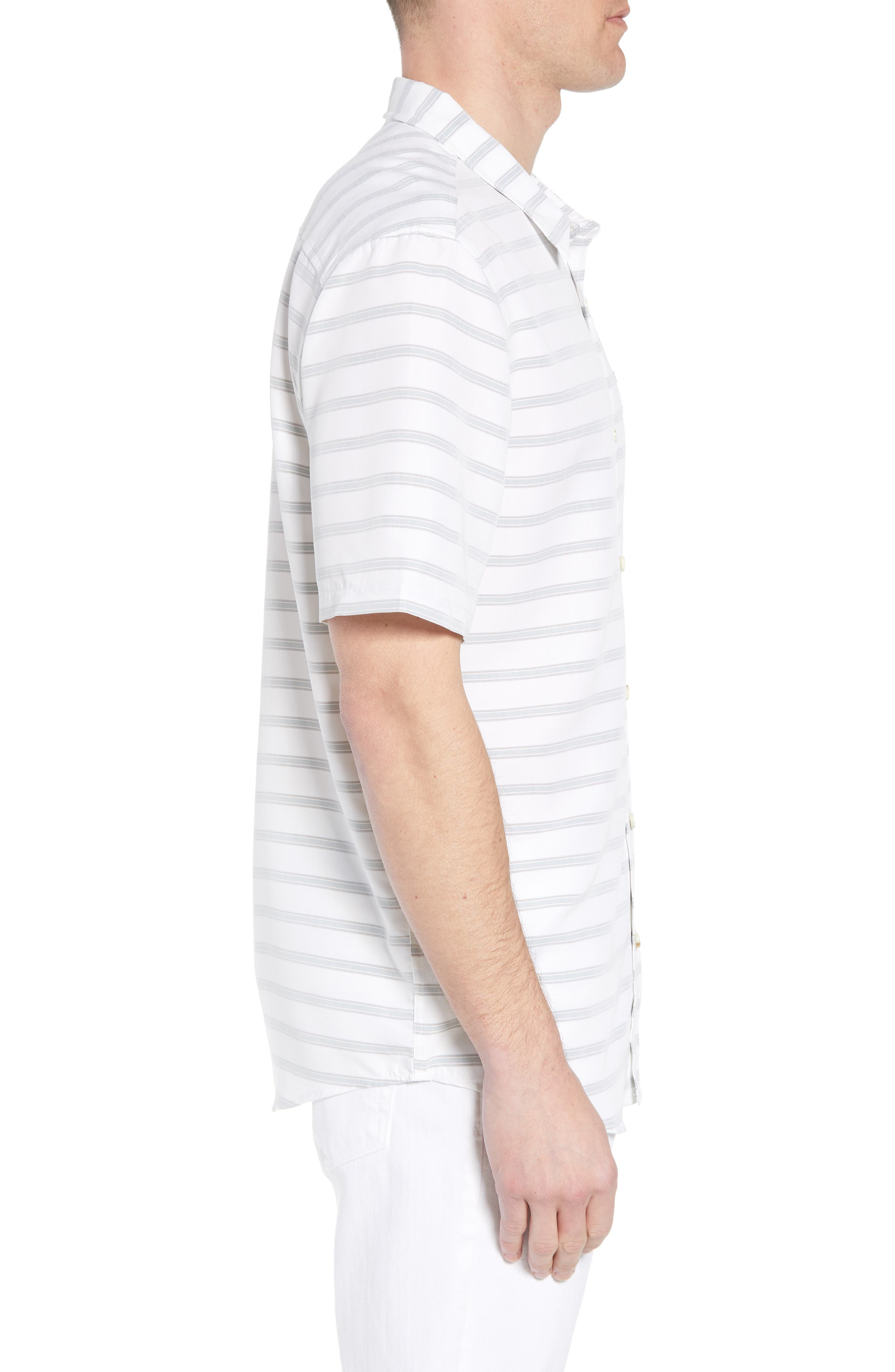 Slow Ride Sport Shirt,                             Alternate thumbnail 4, color,                             White