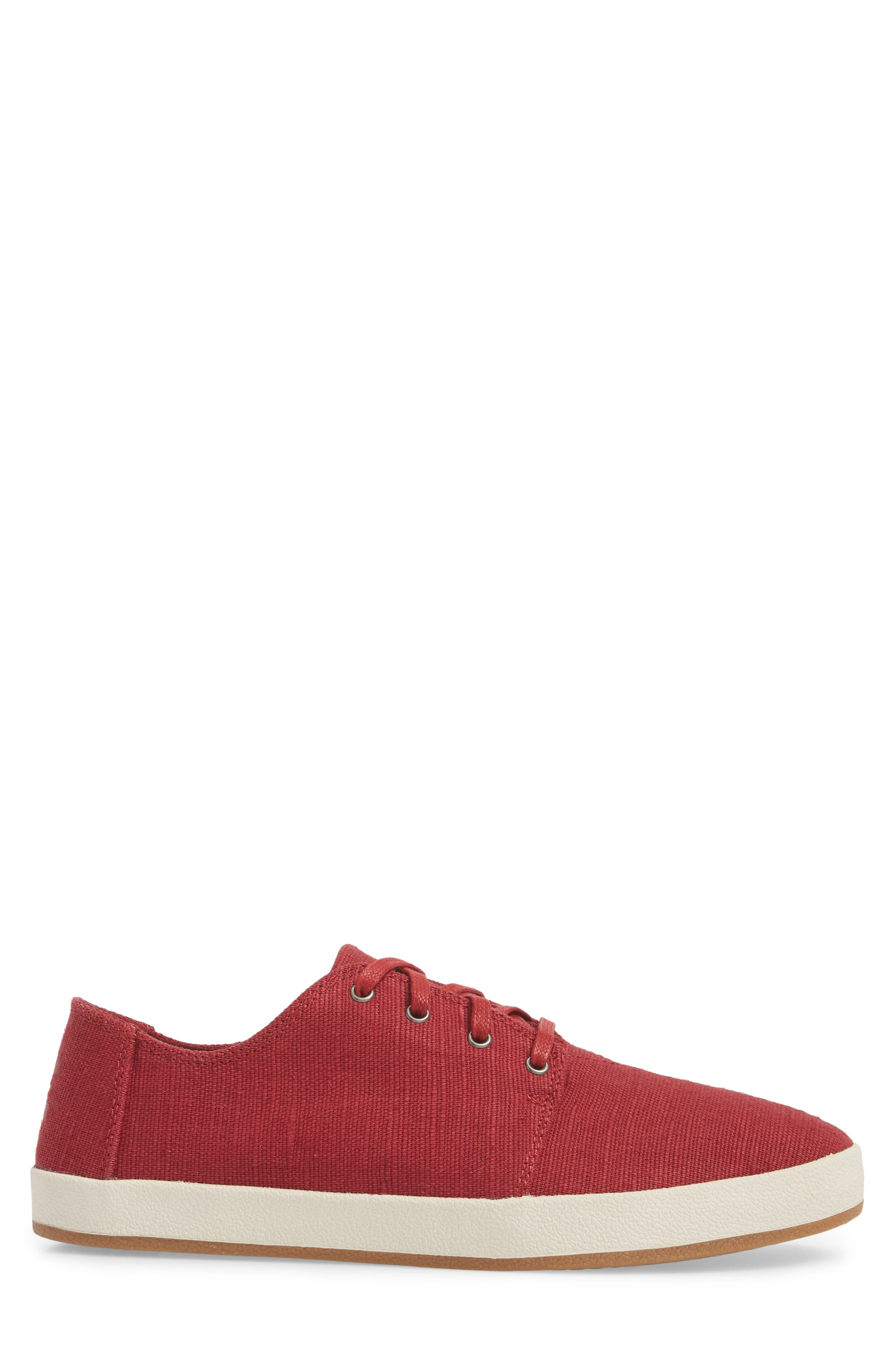 Payton Sneaker,                             Alternate thumbnail 3, color,                             Henna Red Heritage Canvas