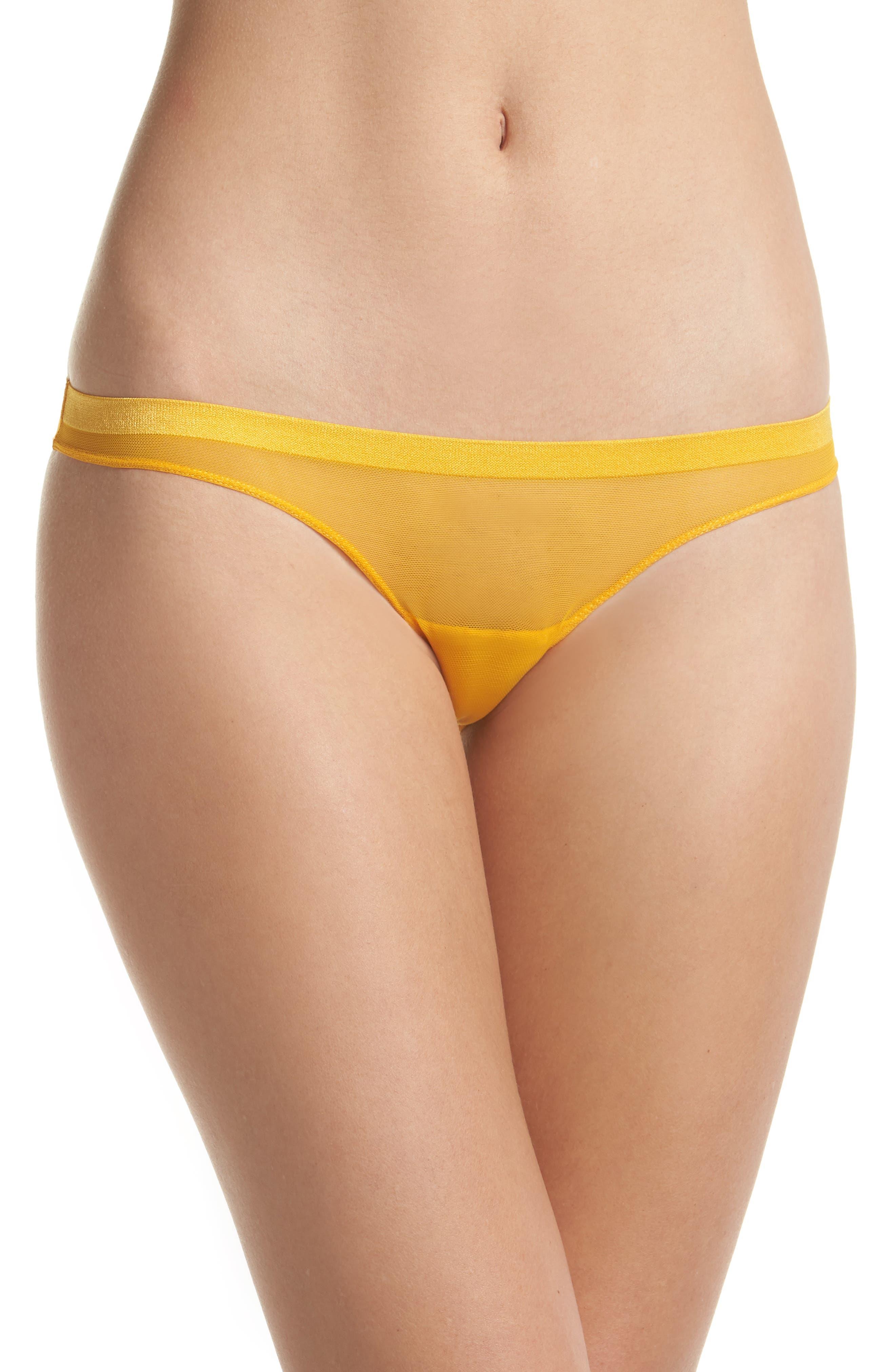 Roxanne Mesh Bikini,                         Main,                         color, Gold