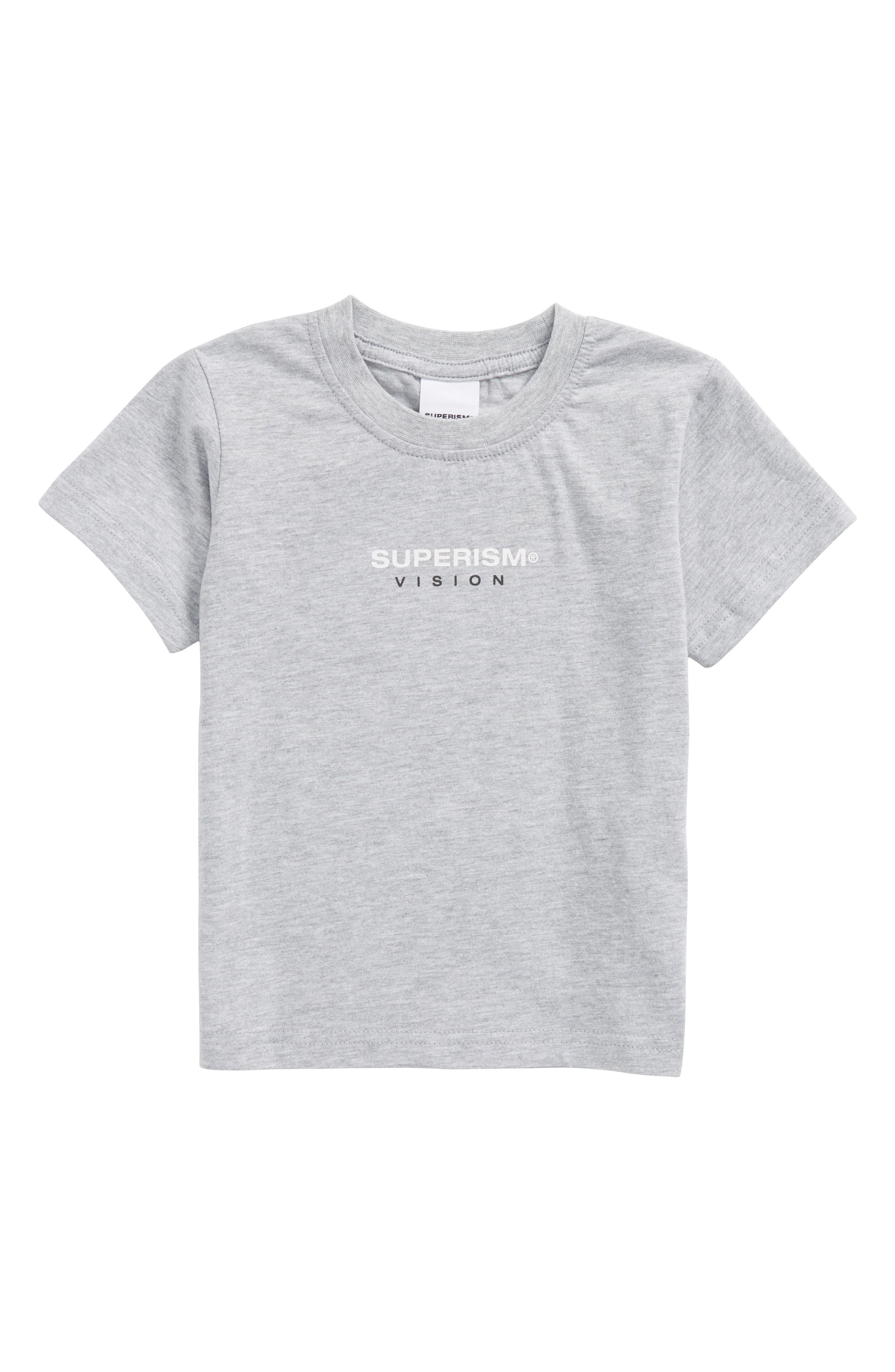 Rose Vision T-Shirt,                         Main,                         color, Heather Grey
