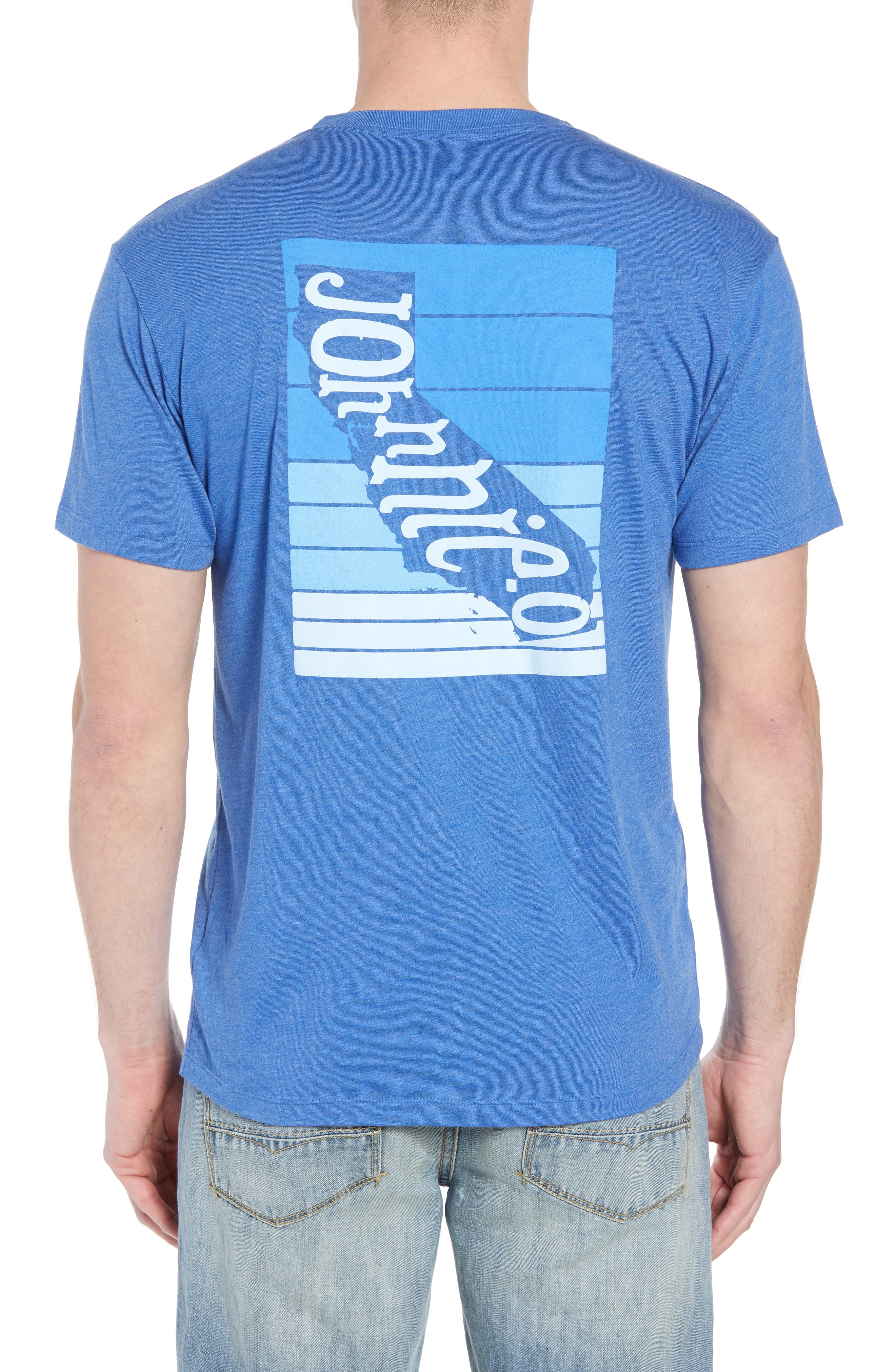 Cali Stripe Graphic T-Shirt,                             Alternate thumbnail 2, color,                             Ripple