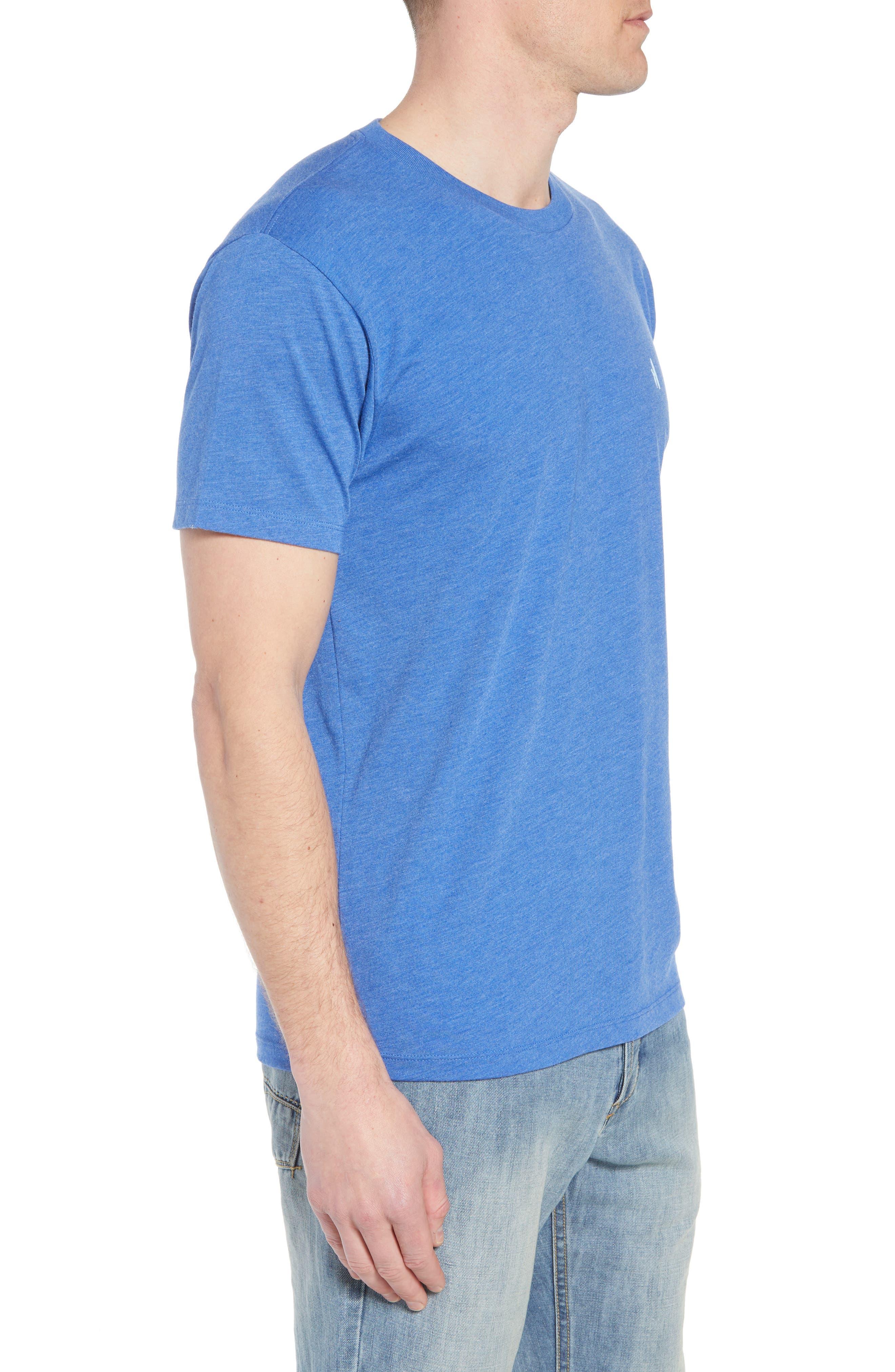 Cali Stripe Graphic T-Shirt,                             Alternate thumbnail 3, color,                             Ripple