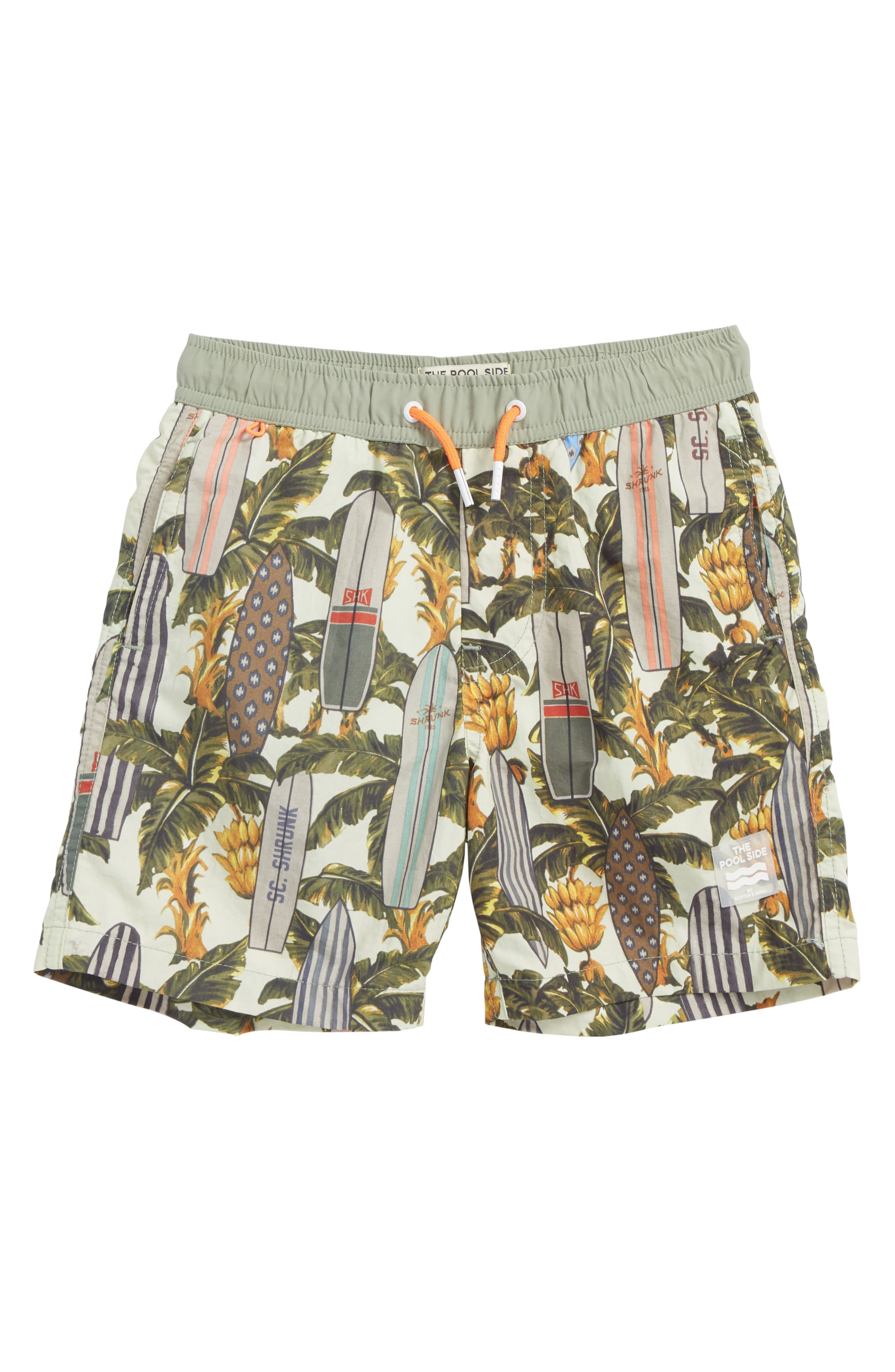 Scotch Shrunk Pool Side Swim Trunks (Little Boys & Big Boys)