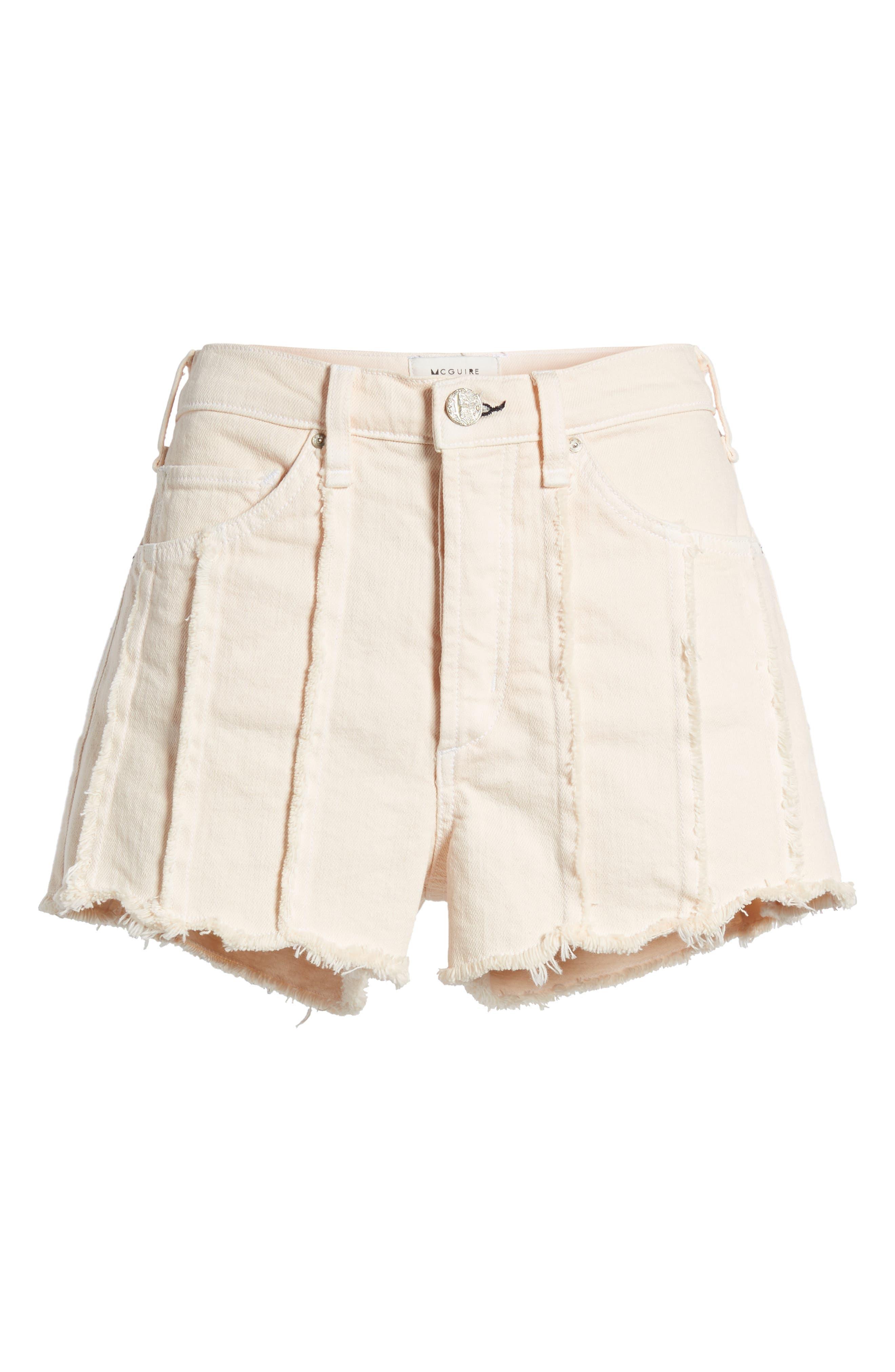 Georgia May High Waist Shorts,                             Alternate thumbnail 7, color,                             Baby Flamingo