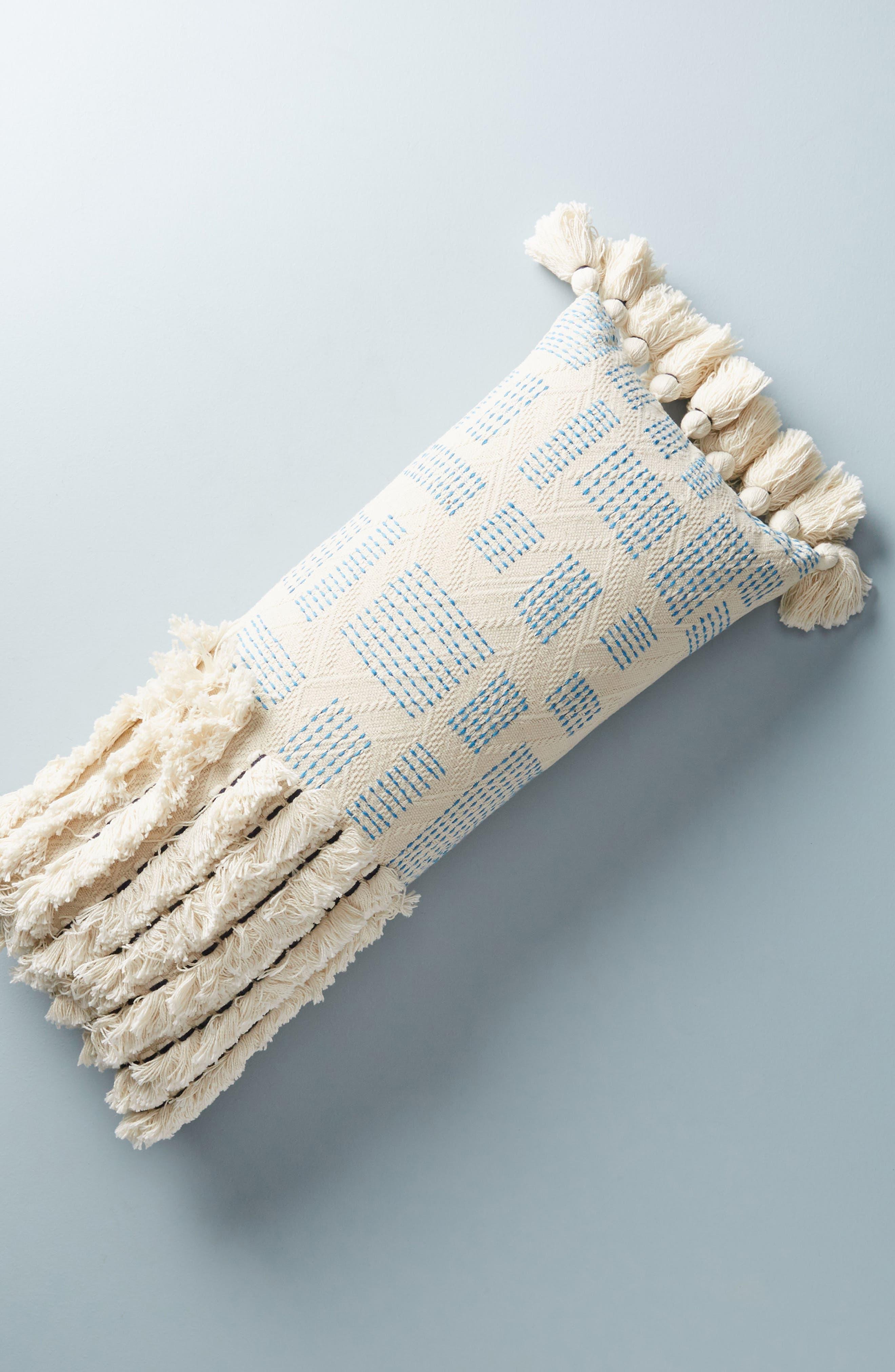 Eden Accent Pillow,                         Main,                         color, Blue