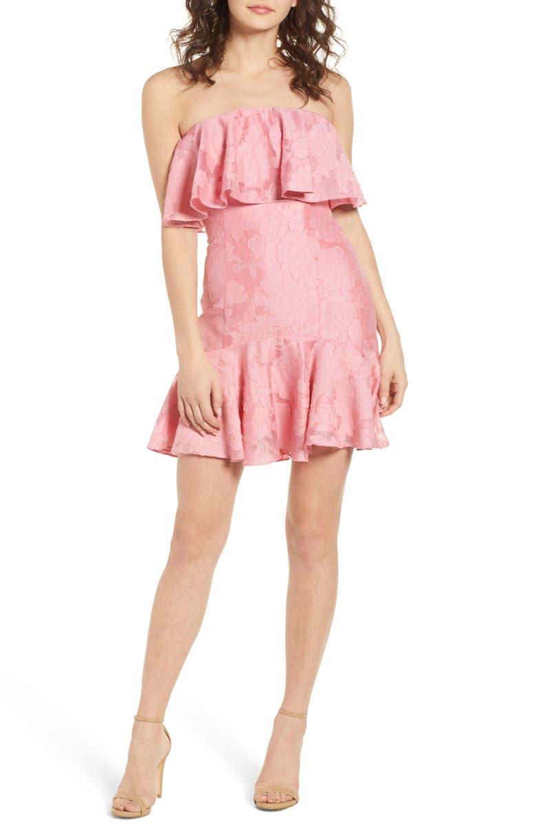 Radar Strapless Dress