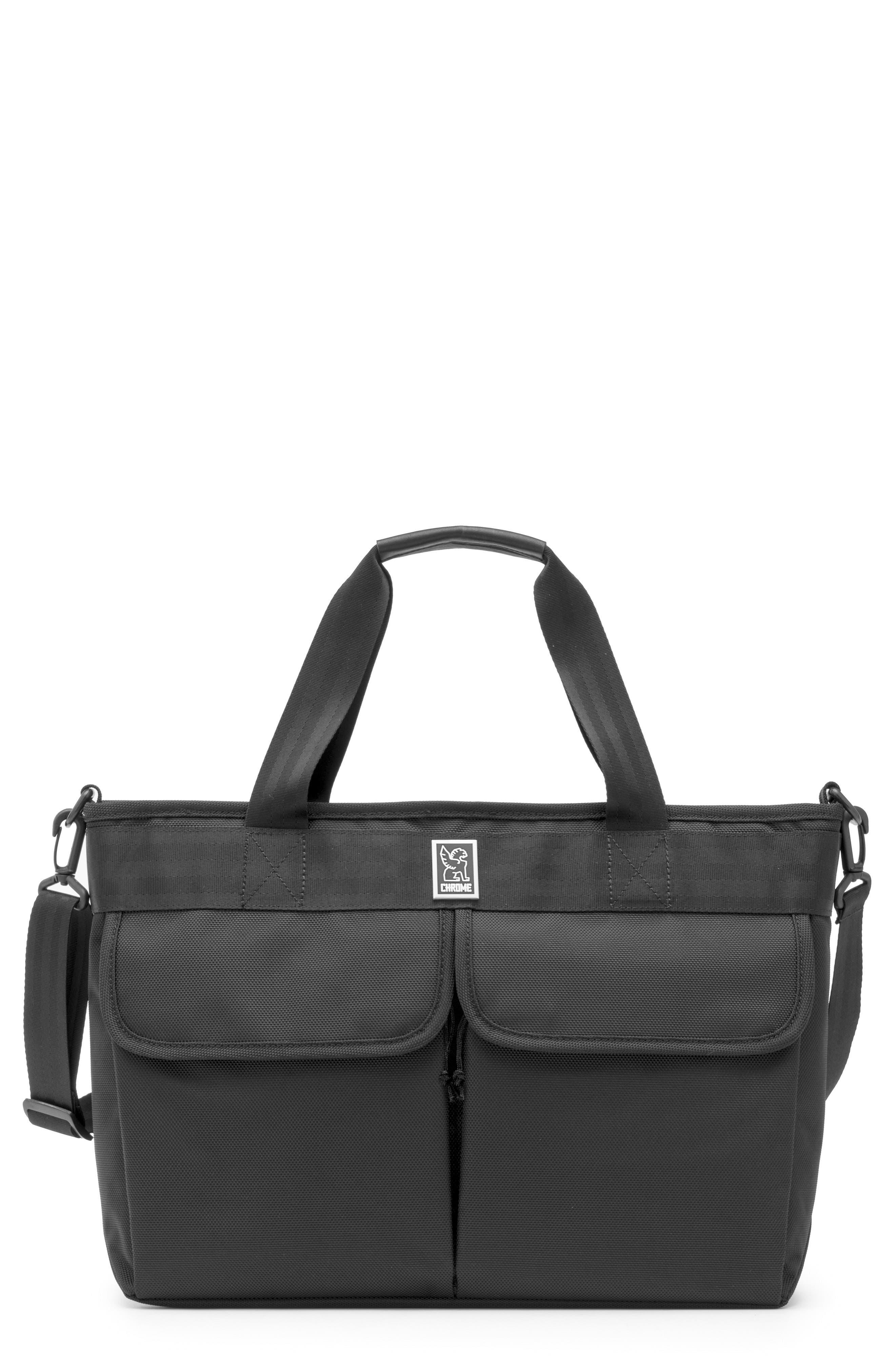 Juno Travel Tote Bag,                             Main thumbnail 1, color,                             All Black