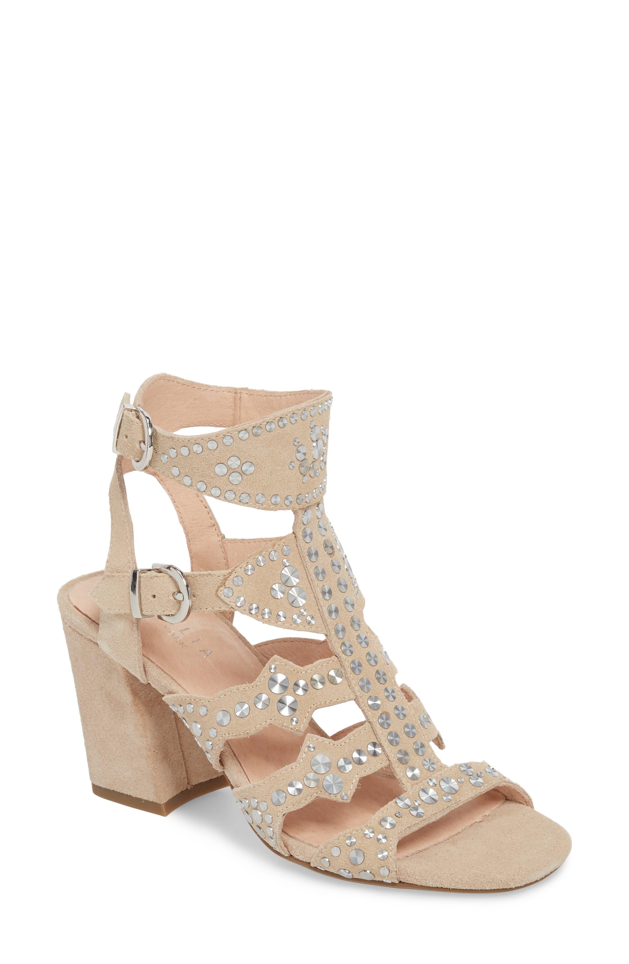 Cecelia New York Cosmo Studded Sandal (Women)