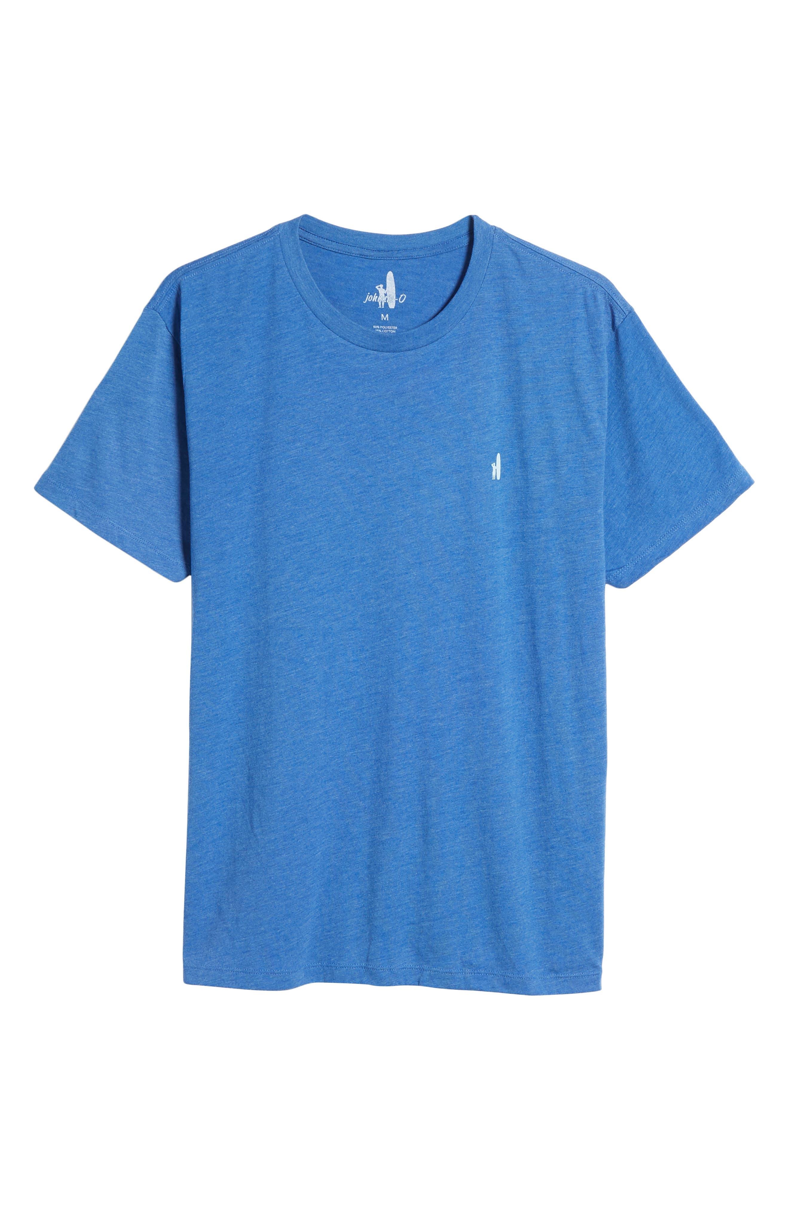 Cali Stripe Graphic T-Shirt,                             Alternate thumbnail 6, color,                             Ripple