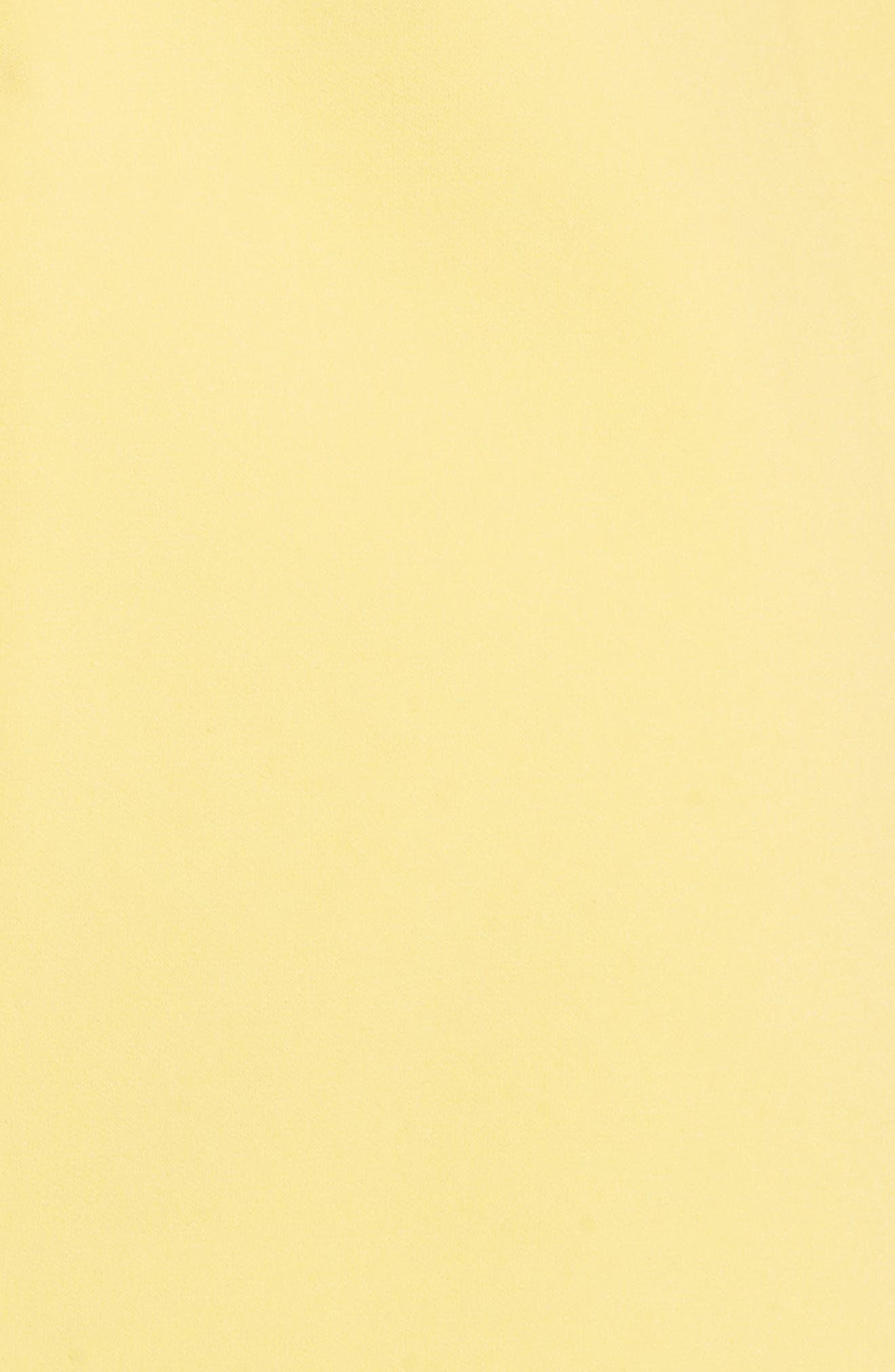 Coley A-Line Dress,                             Alternate thumbnail 5, color,                             Lemon
