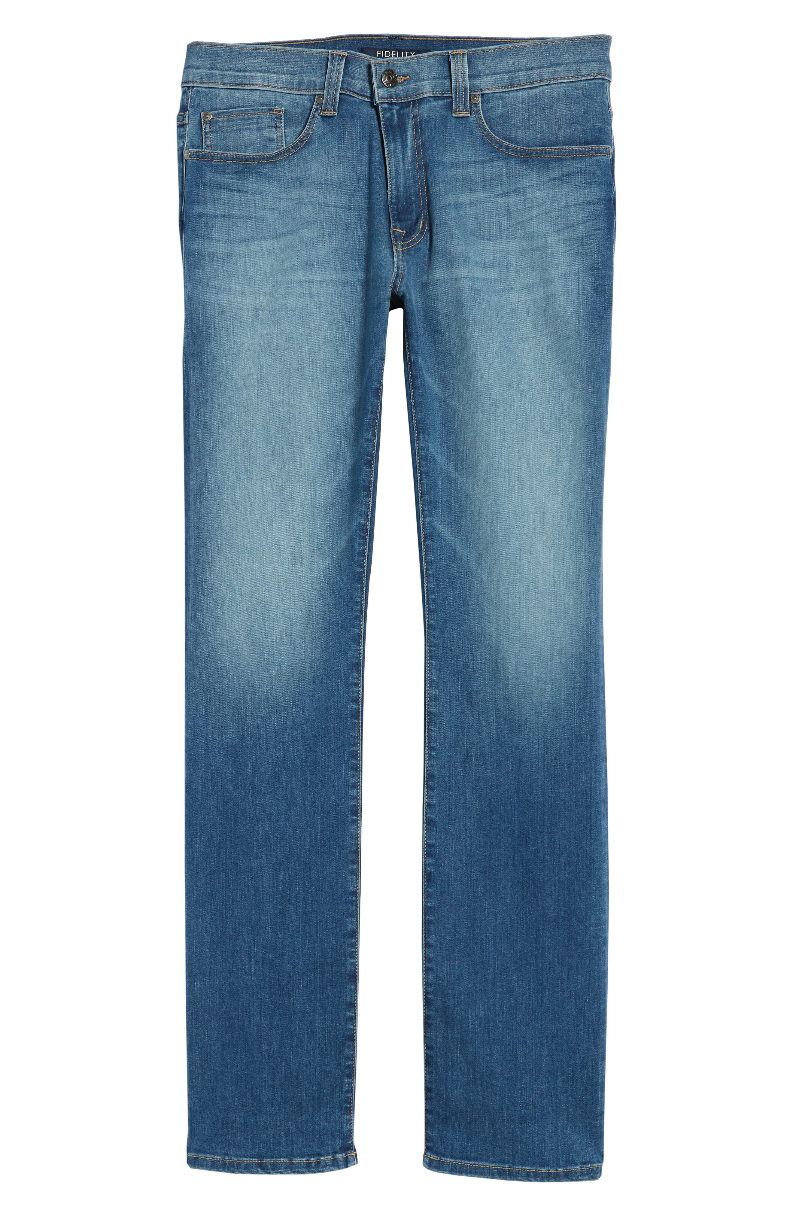 50-11 Relaxed Fit Jeans,                             Alternate thumbnail 6, color,                             Elysium