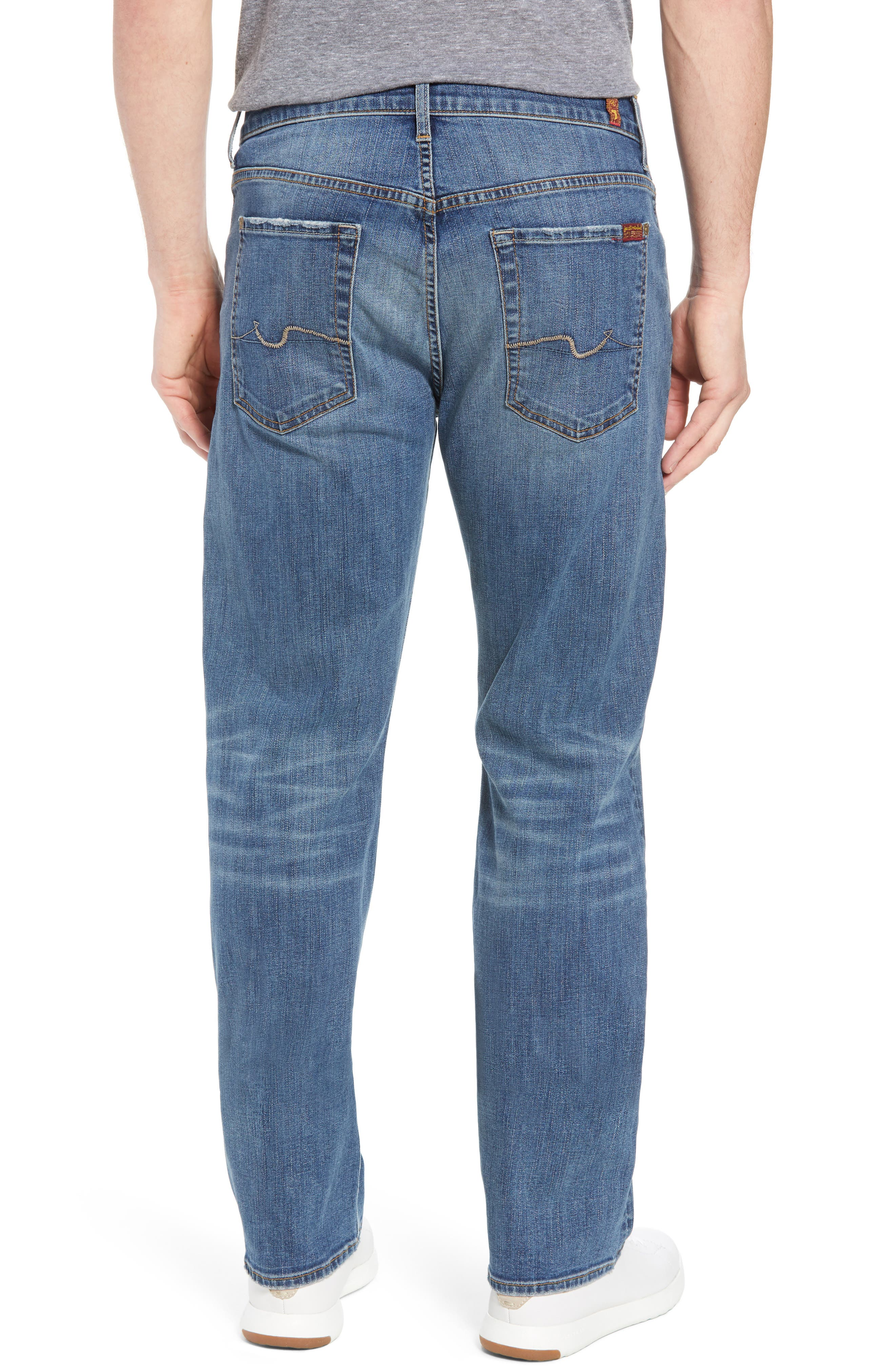 Luxe Performance - Austyn Relaxed Fit Jeans,                             Alternate thumbnail 2, color,                             Bedrock