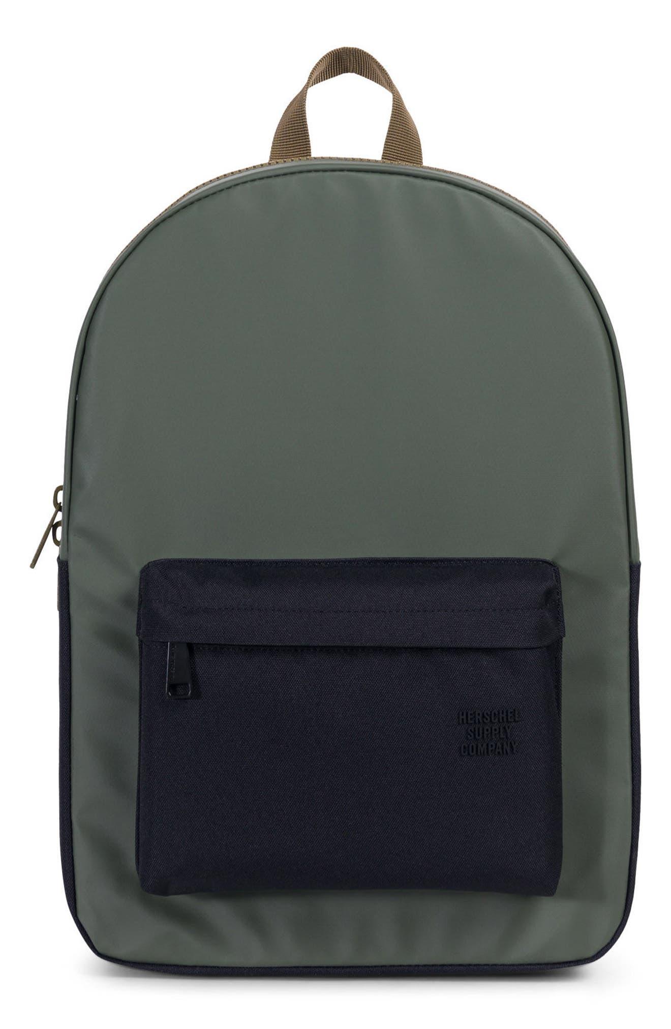 Winlaw Studio Backpack,                         Main,                         color, Beetle Black/ Goth Olive