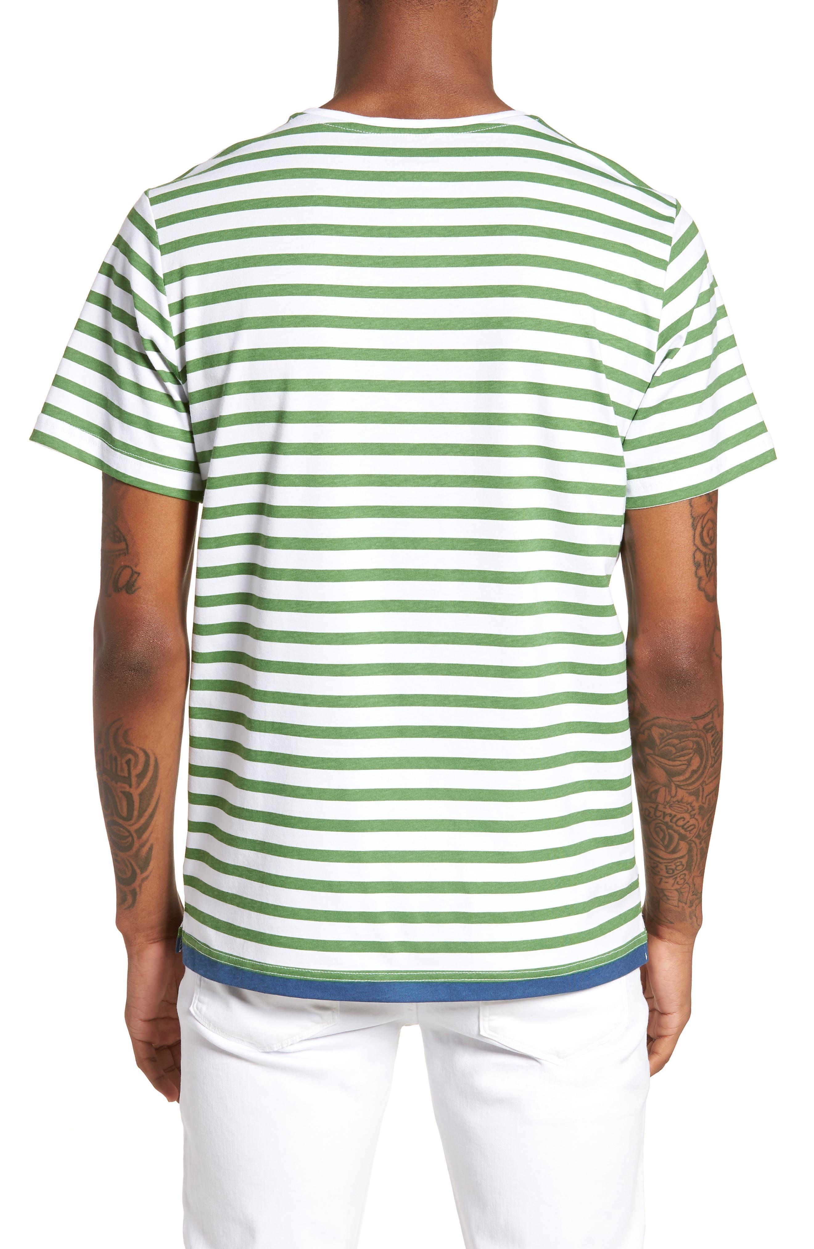 Abalone T-Shirt,                             Alternate thumbnail 2, color,                             Green