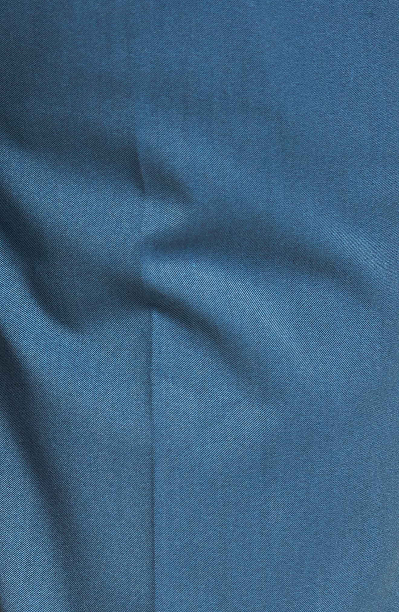 Skinny Fit Suit Trousers,                             Alternate thumbnail 5, color,                             Light Blue