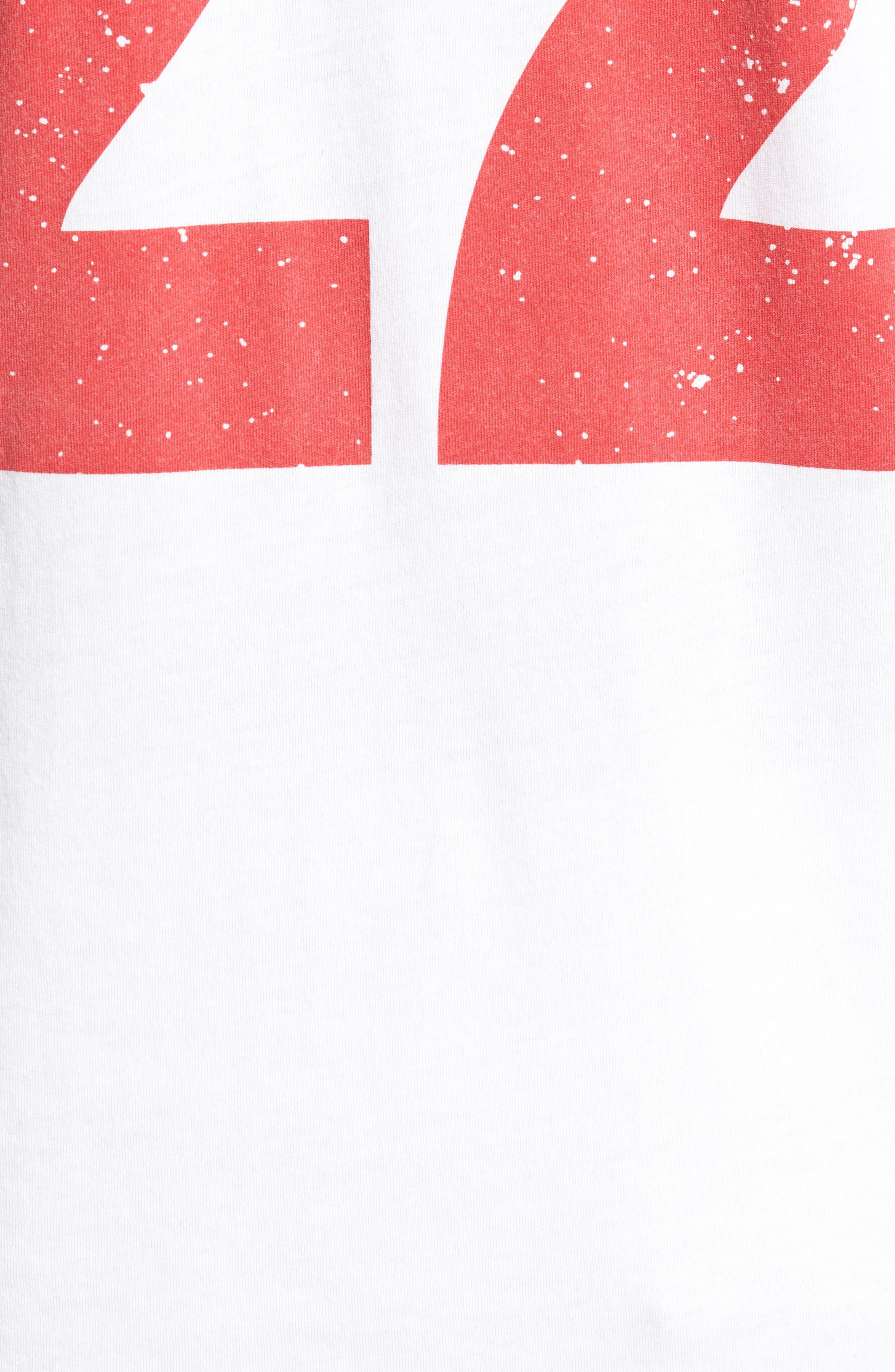 Japan Jersey T-Shirt,                             Alternate thumbnail 5, color,                             White