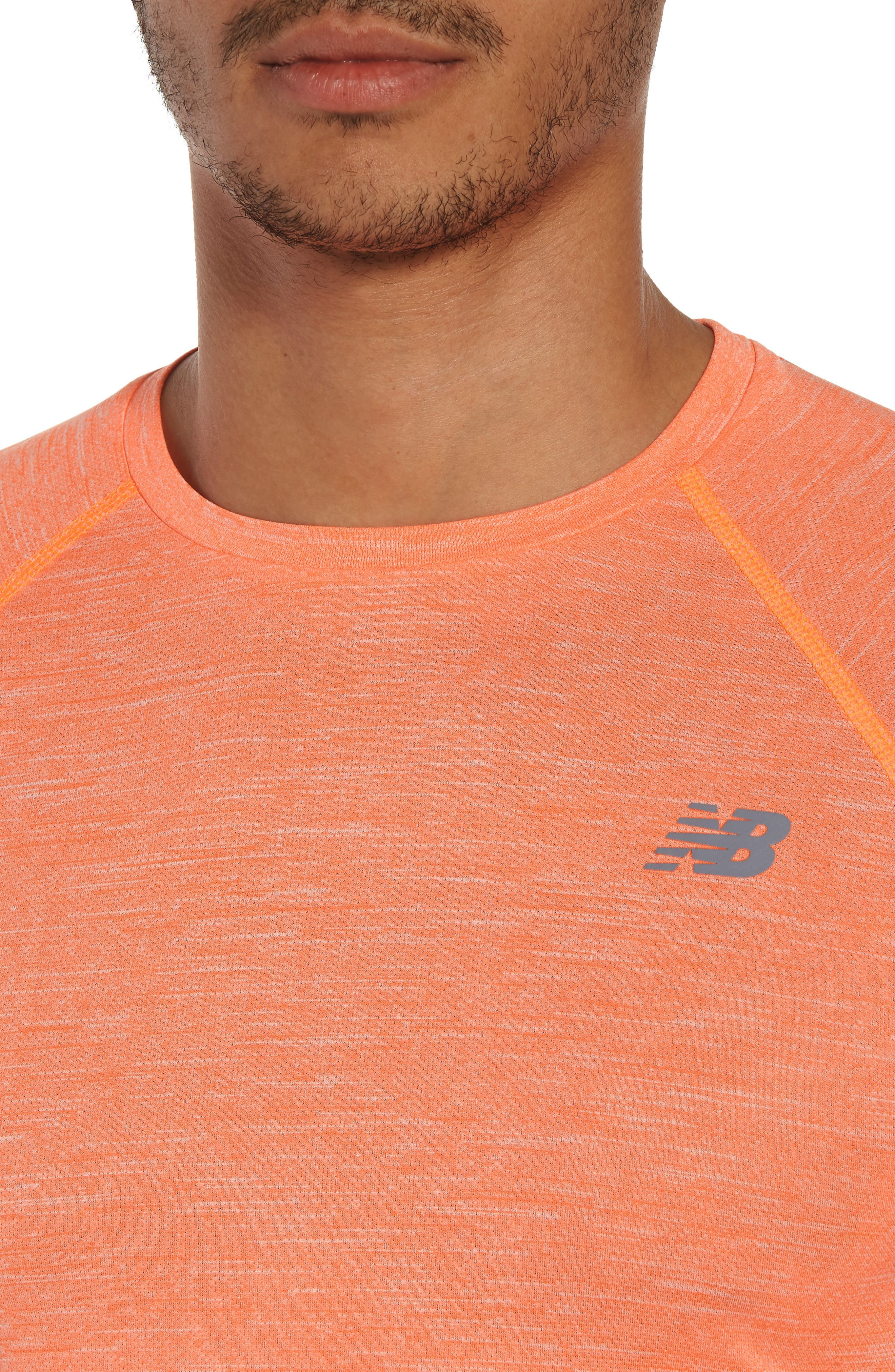 Alternate Image 4  - New Balance Tenacity Crewneck T-Shirt
