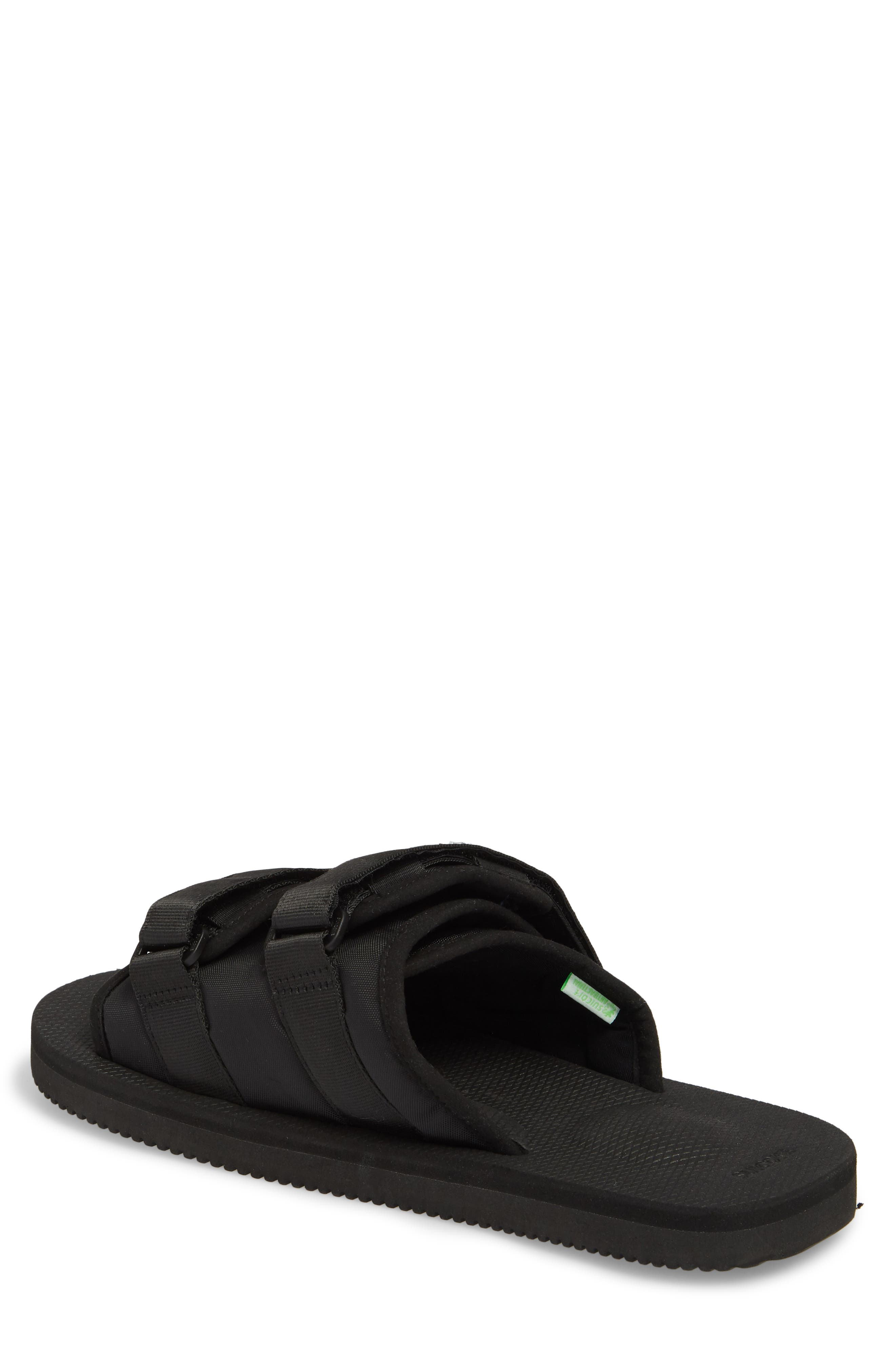 Moto Cab Slide Sandal,                             Alternate thumbnail 2, color,                             Black