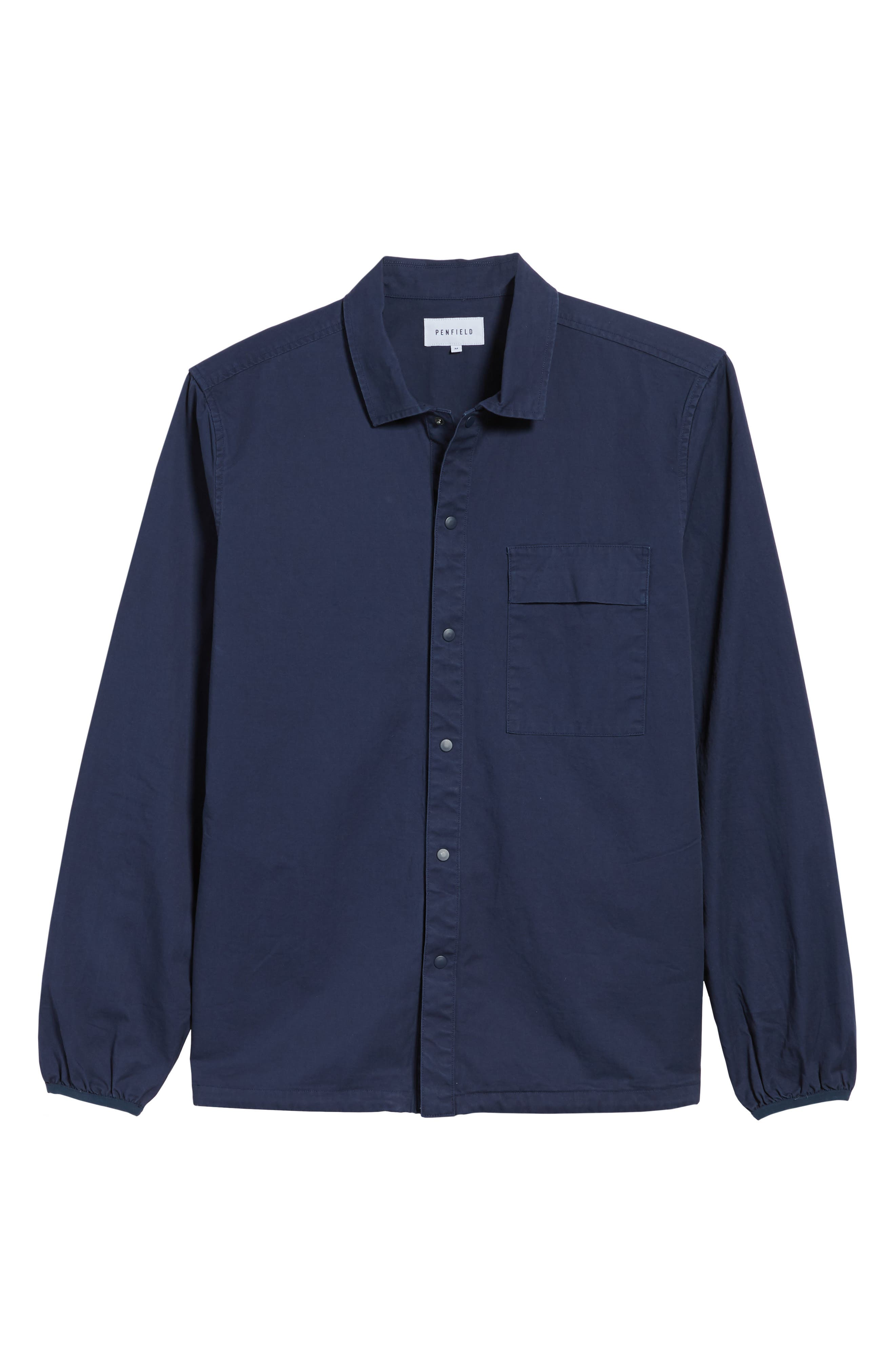 Blackstone Shirt Jacket,                             Alternate thumbnail 6, color,                             Navy