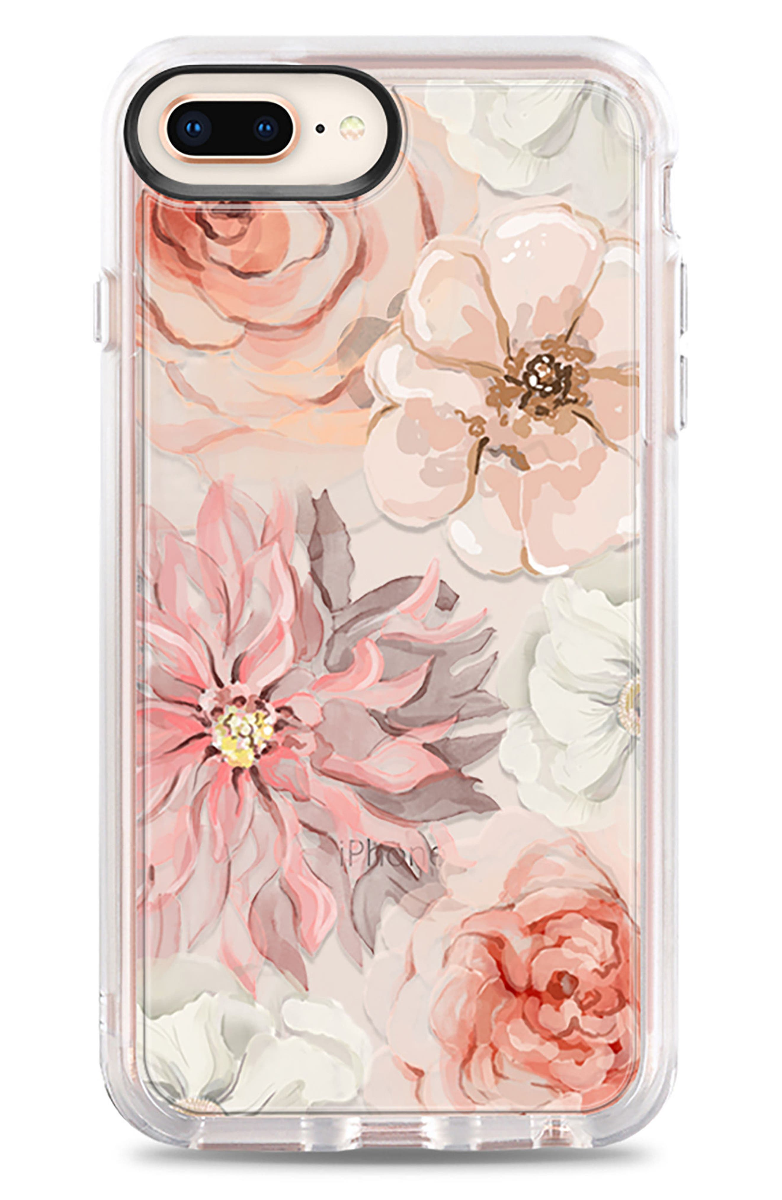 Pretty Blush iPhone 7/8 & 7/8 Plus Case,                             Alternate thumbnail 2, color,                             Blush Pink