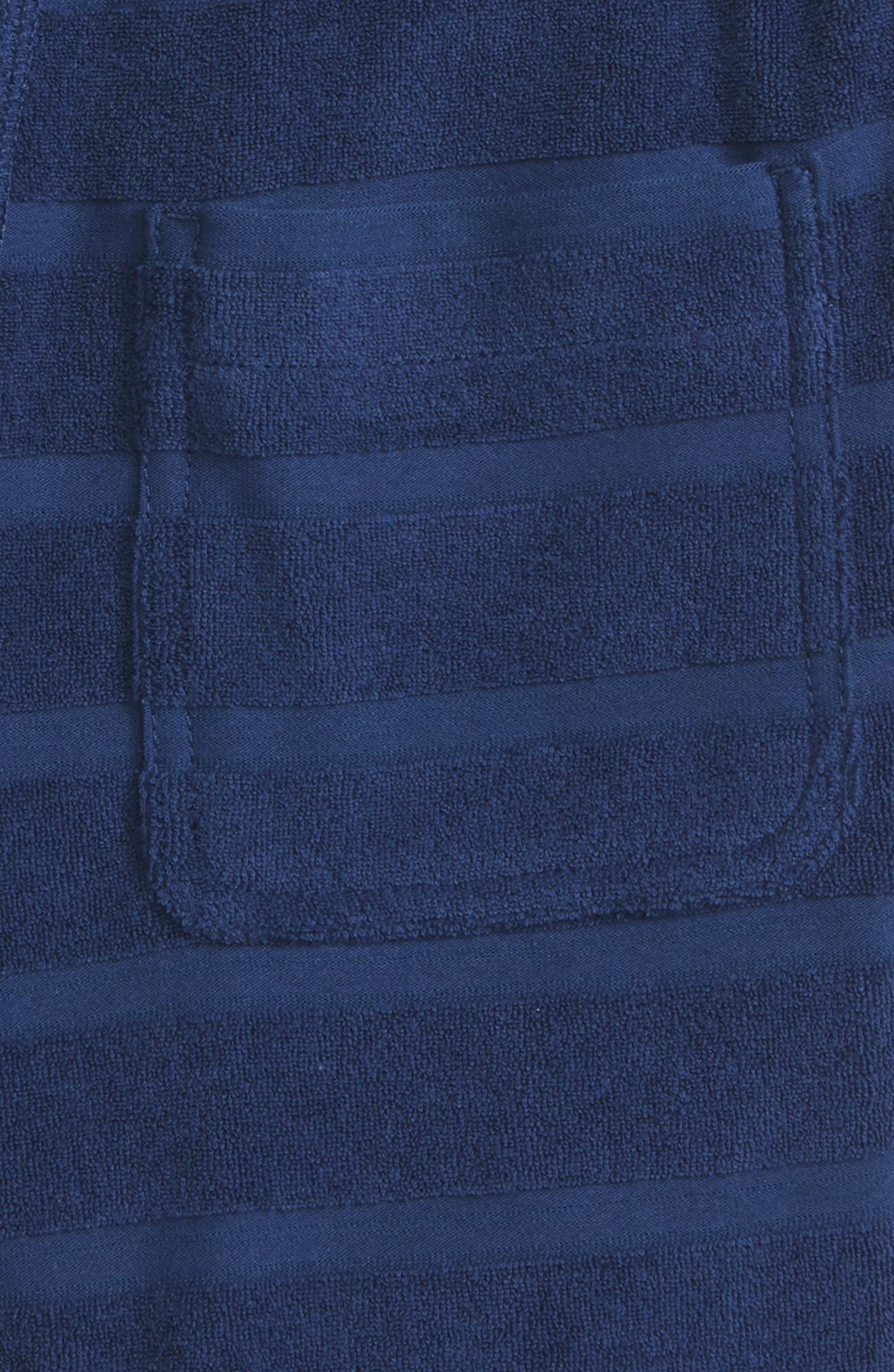 Toweling Shorts,                             Alternate thumbnail 3, color,                             Beacon Blue