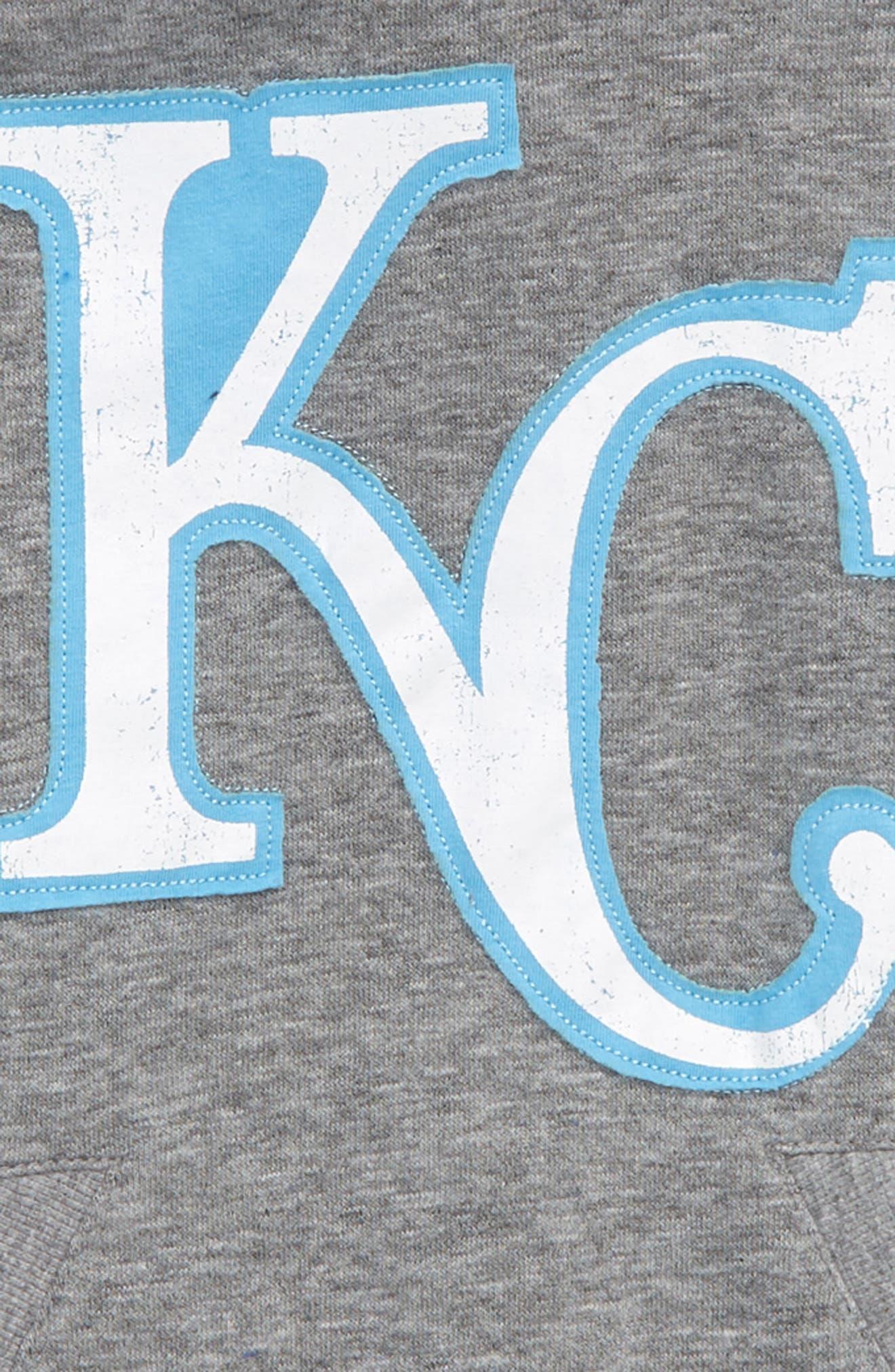 New Beginnings - Kansas City Royals Pullover Hoodie,                             Alternate thumbnail 2, color,                             Gray