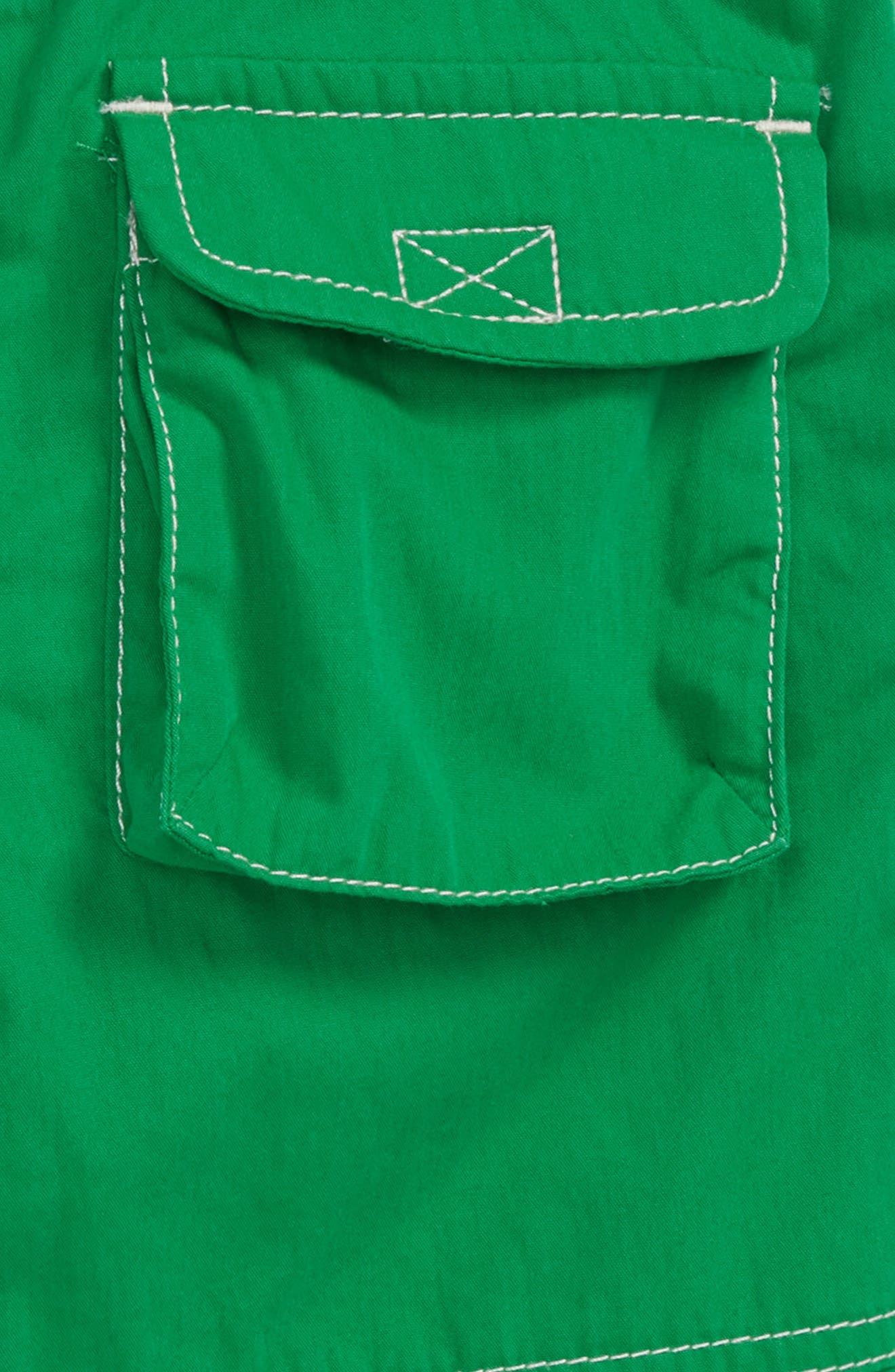 Adventure Shorts,                             Alternate thumbnail 2, color,                             Runner Bean Green