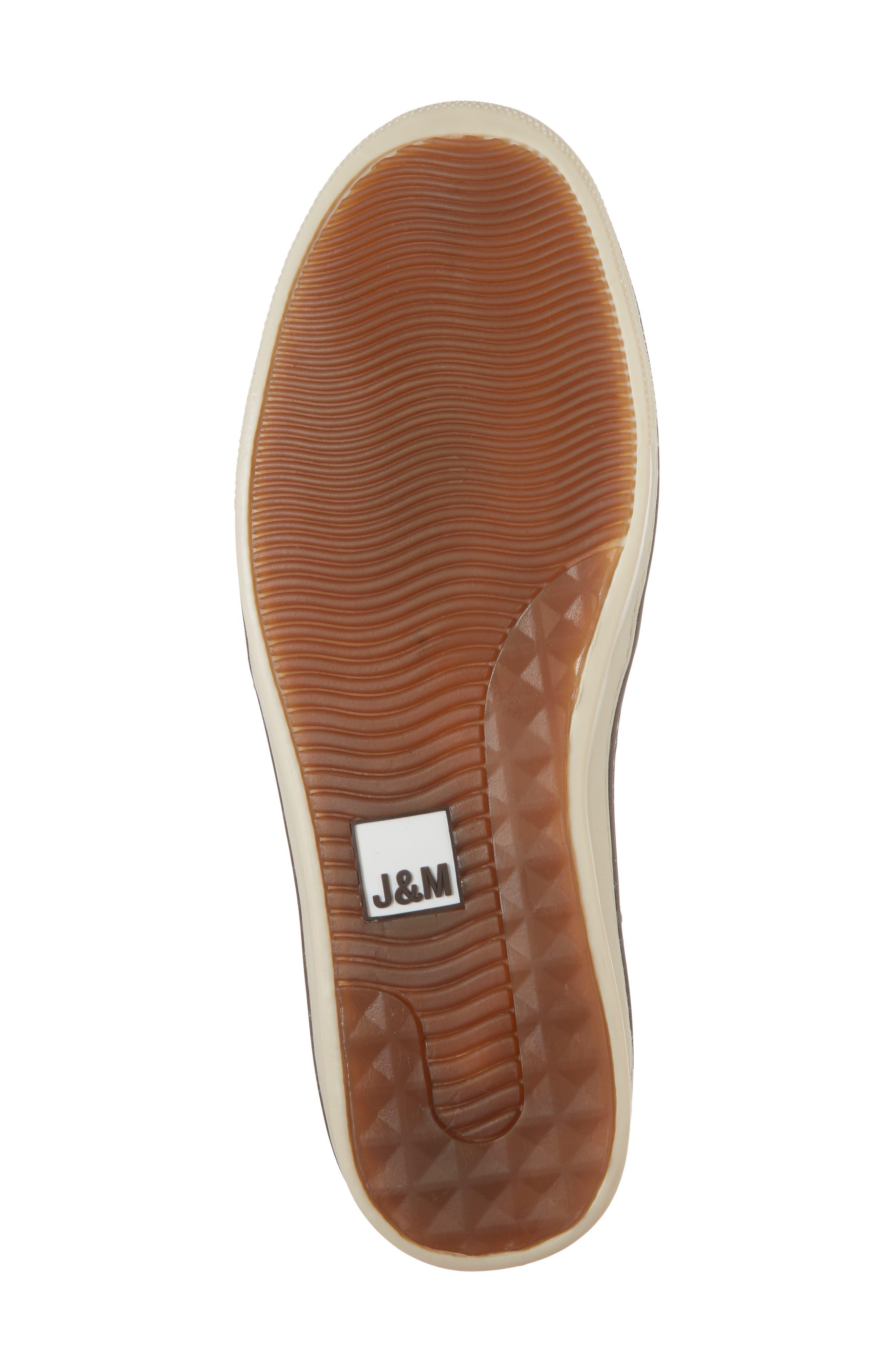 McGuffey Slip-On Sneaker,                             Alternate thumbnail 6, color,                             Black Leather