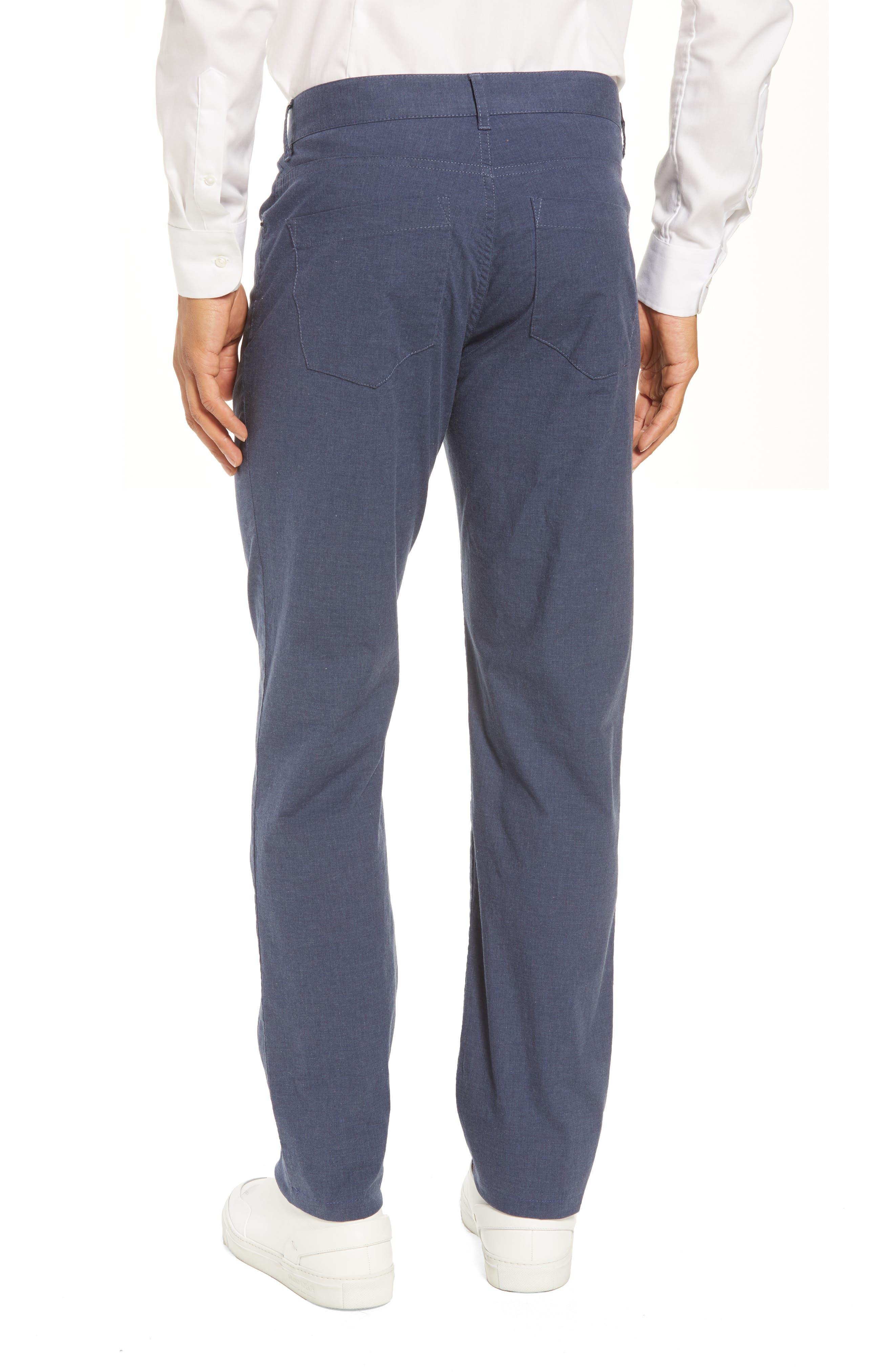 McKinney Regular Fit Straight Leg Pants,                             Alternate thumbnail 2, color,                             Blue